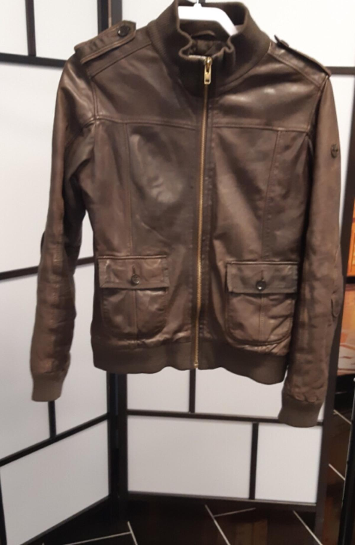 3689df19c Timberland Leather Jacket