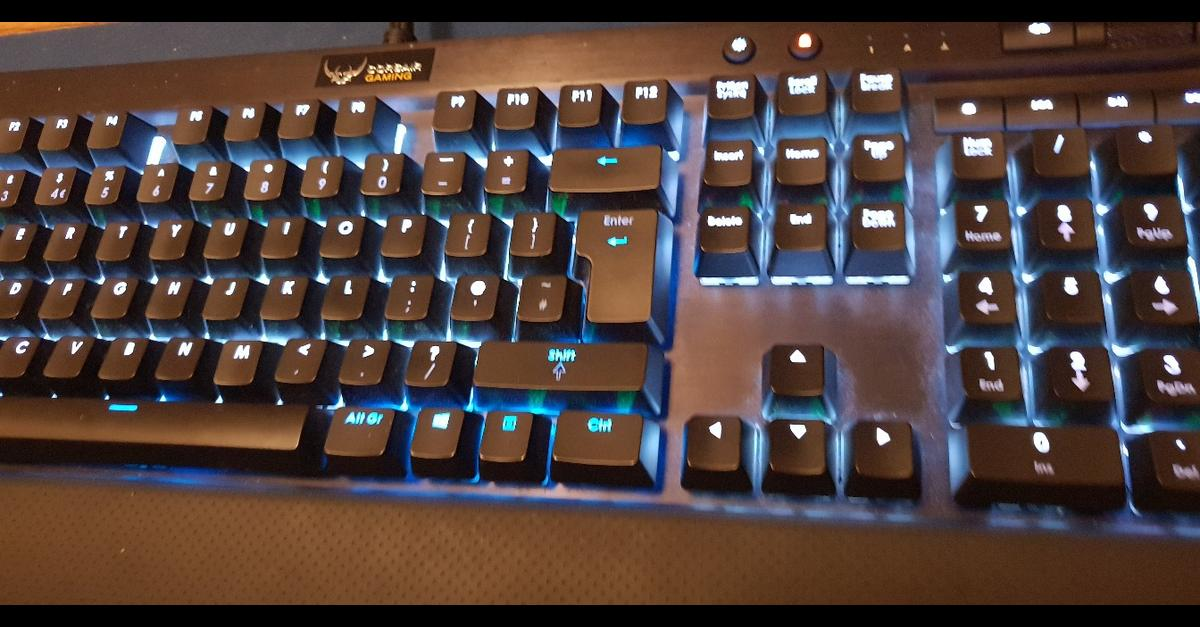 Corsair k70 rgb gaming keyboard in LS3 Leeds for £55 00 for