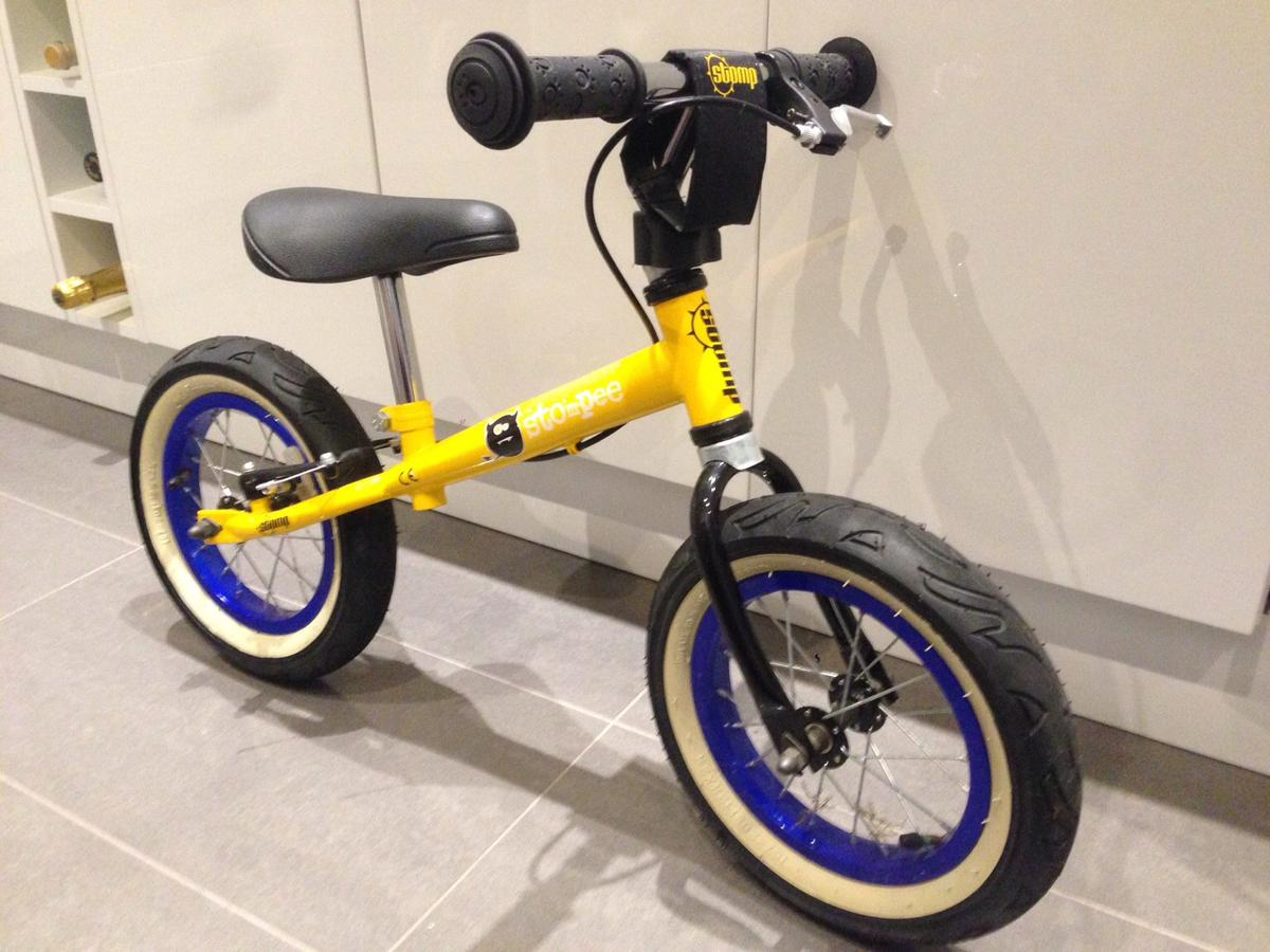 Prime Stomp Stompee Balance Bike In Ig10 Forest For 45 00 For Pdpeps Interior Chair Design Pdpepsorg