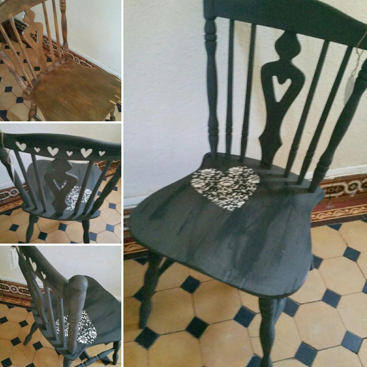 Groovy Upcycled Wooden Chair Home Interior And Landscaping Oversignezvosmurscom