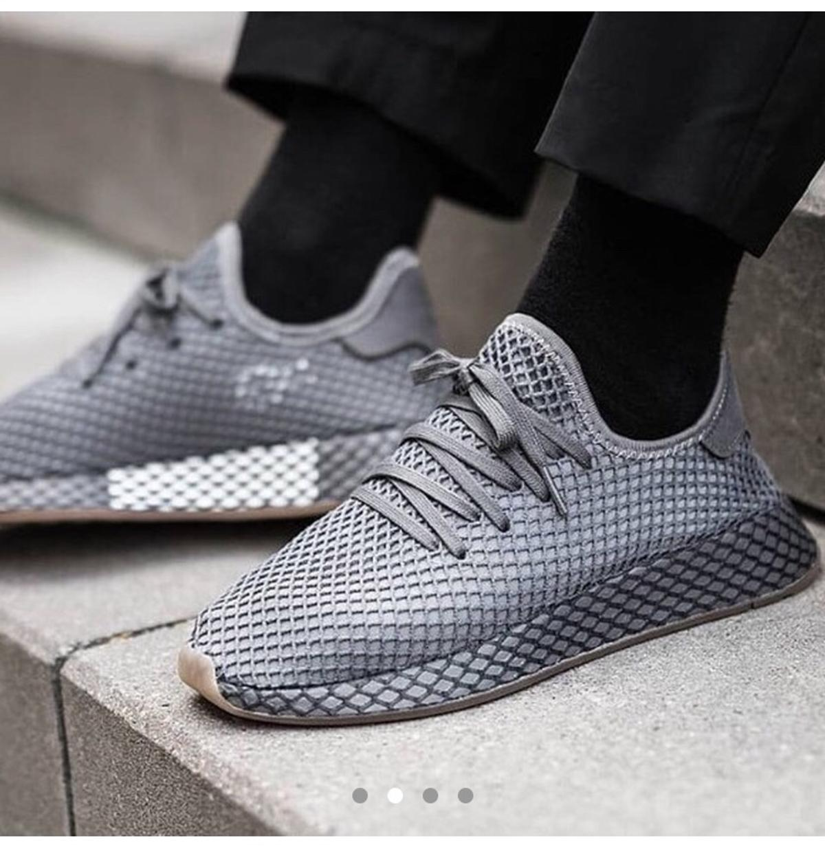 6dcdc5e9a87a Adidas Deerupt size uk 3 Grey in N1 London for £30.00 for sale - Shpock
