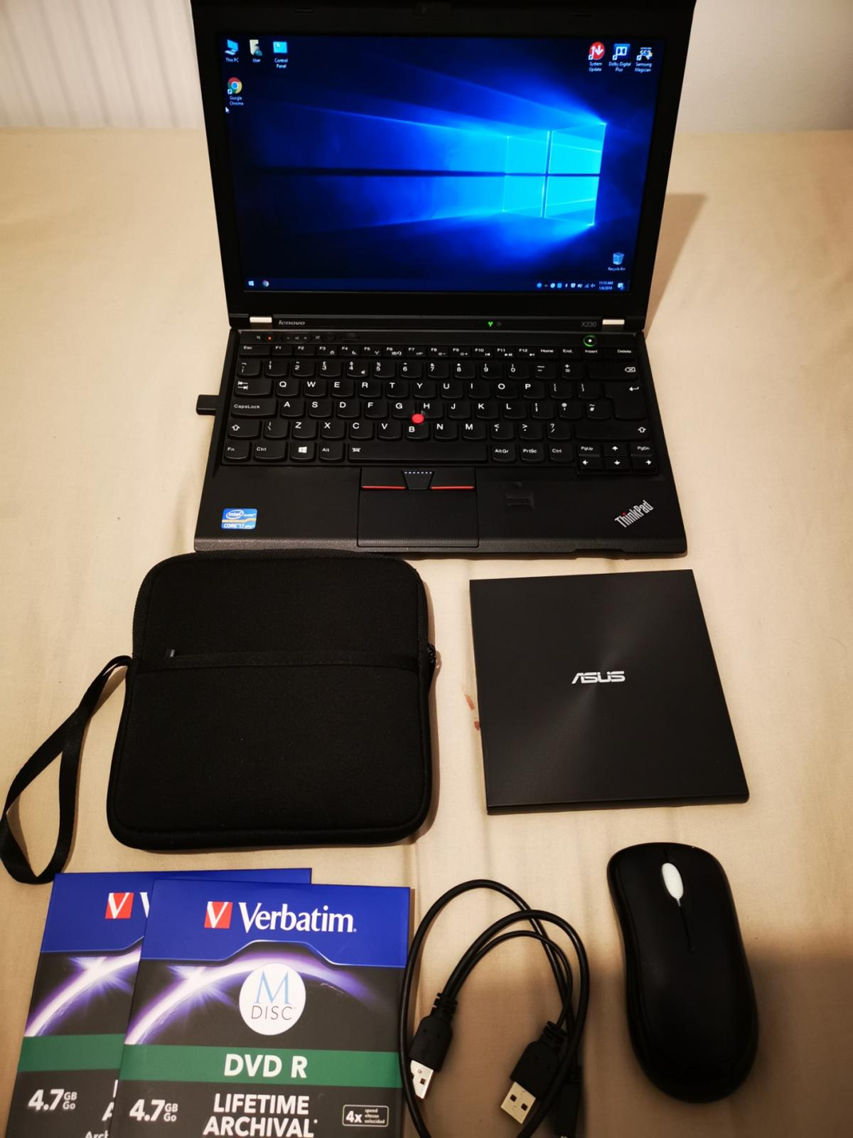 Lenovo ThinkPad X230 I7 4GB SSD laptop in RM3 London for