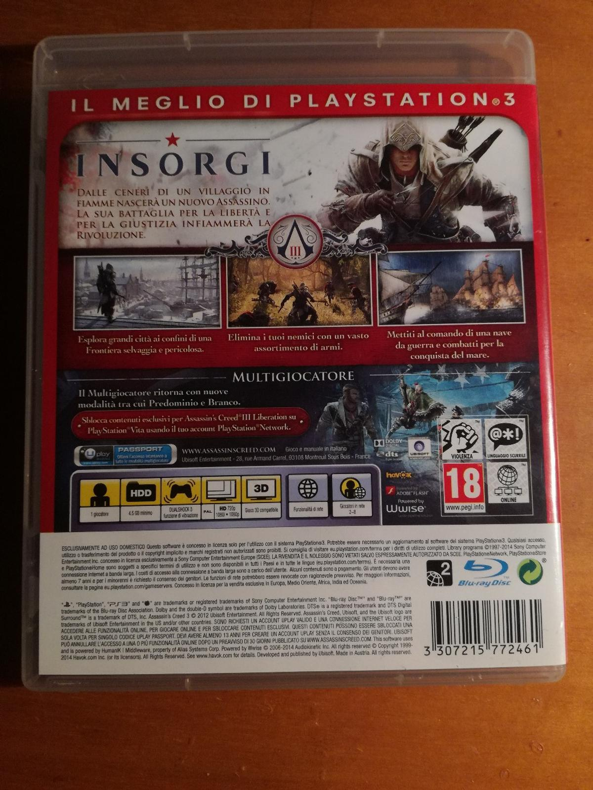 Gioco PS3 in 37055 Ronco all'Adige for €10 00 for sale - Shpock