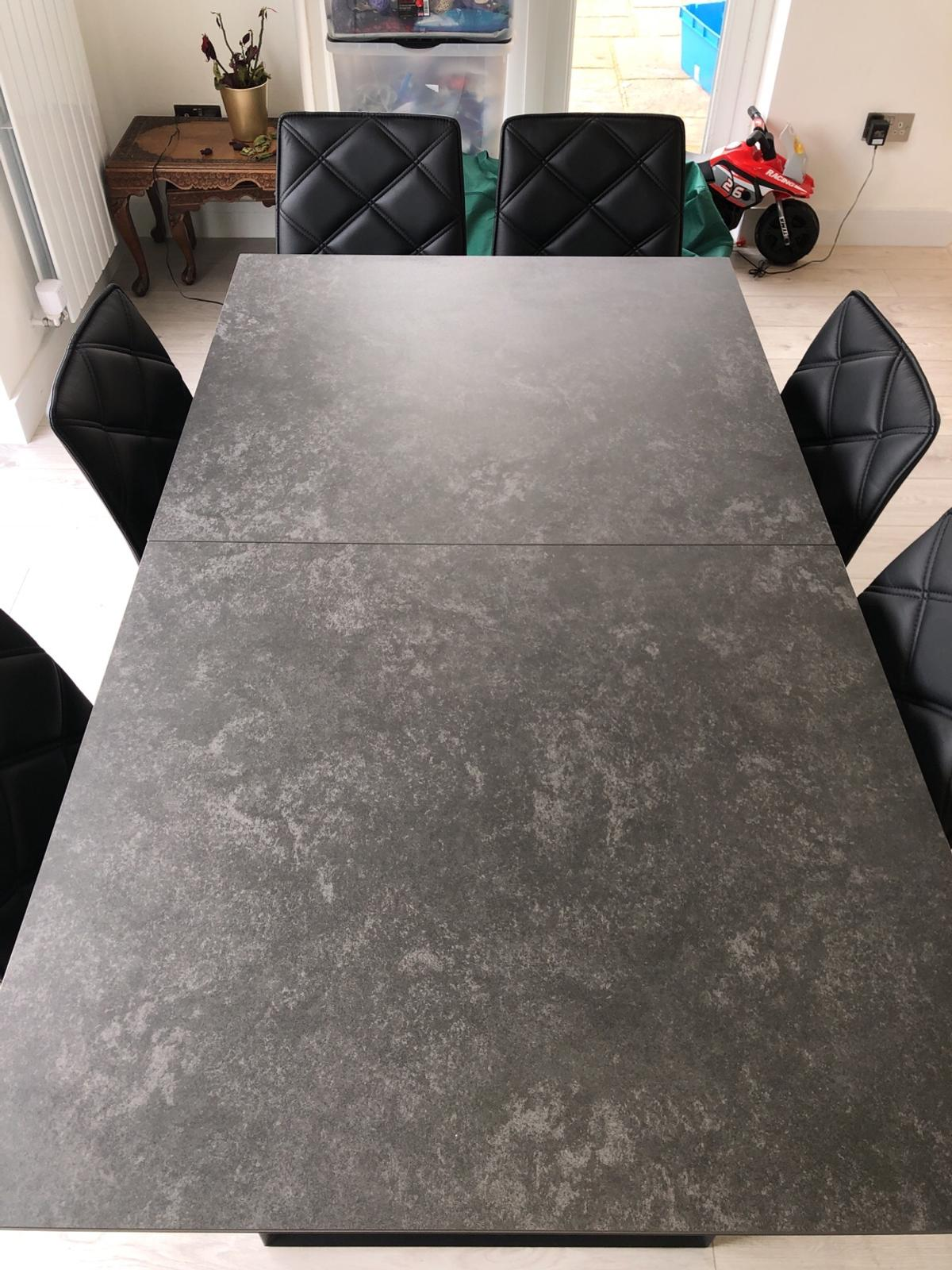 Dwell Reno Ceramic Extendable Dining Table