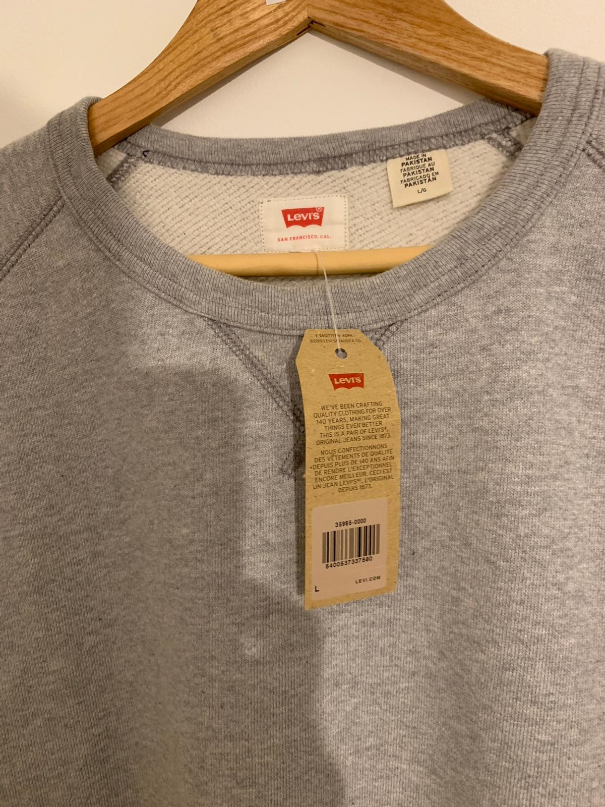 ad359da7203 Levis Sweatshirt/Jumper - Large - Brand New in GU46 Sandhurst for ...