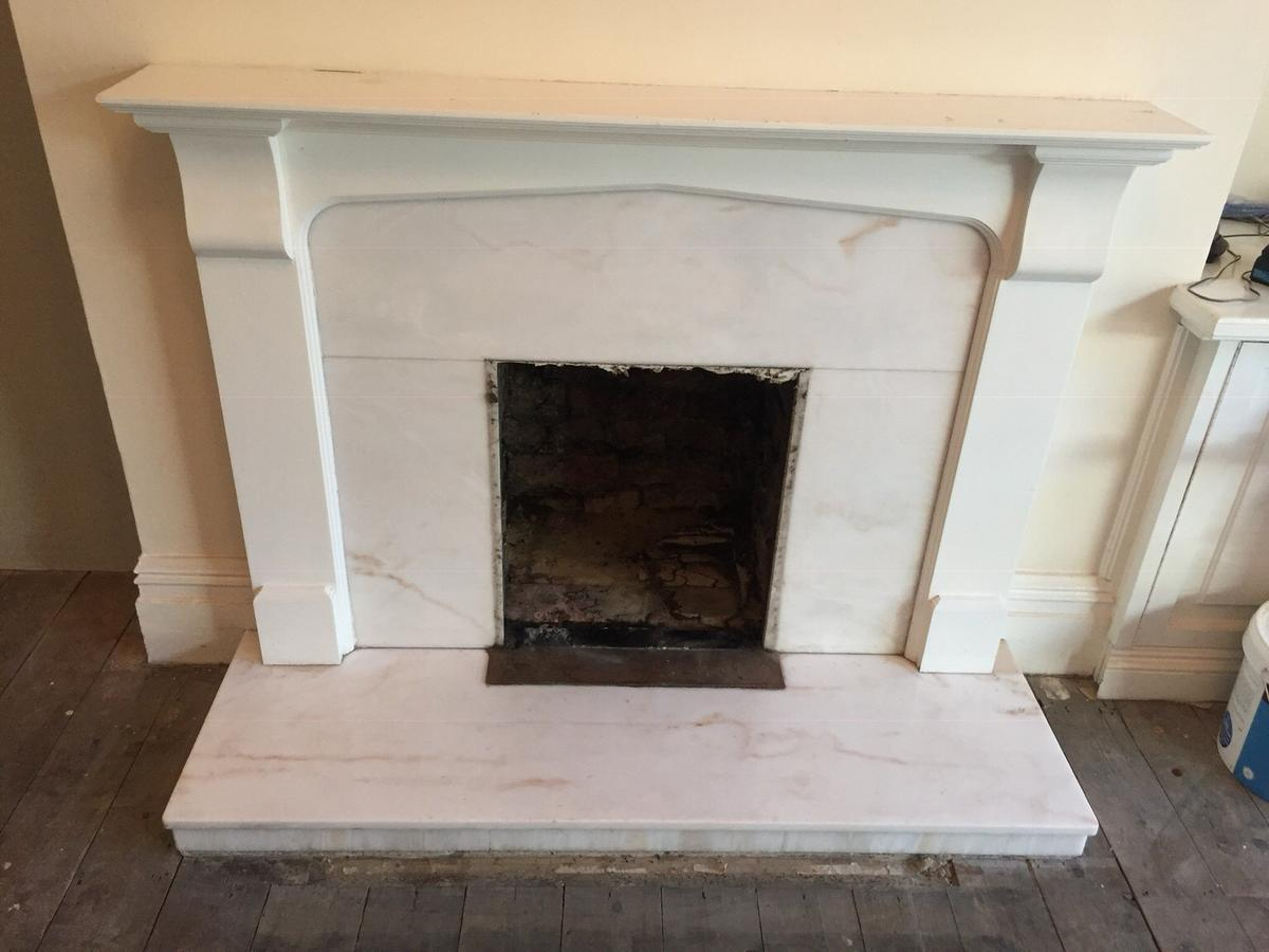 Fire Surround With Marble Hearth And Panel In Ng31 Kesteven For 35 00 For Sale Shpock