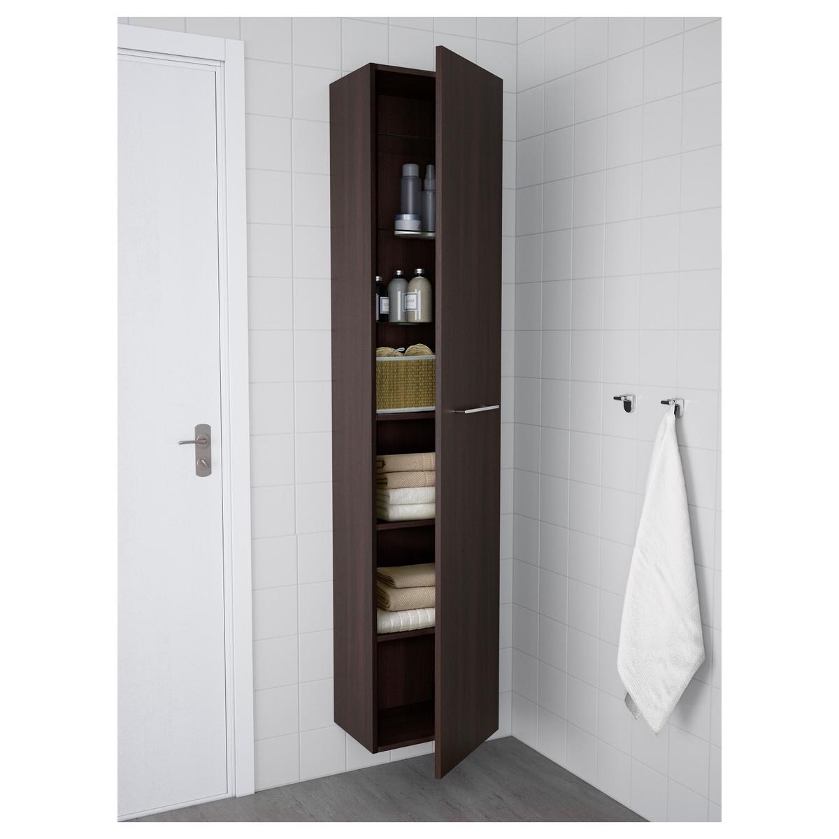 save off bf05d 84f49 GodMorgon Ikea cabinet Dark Brown/Black