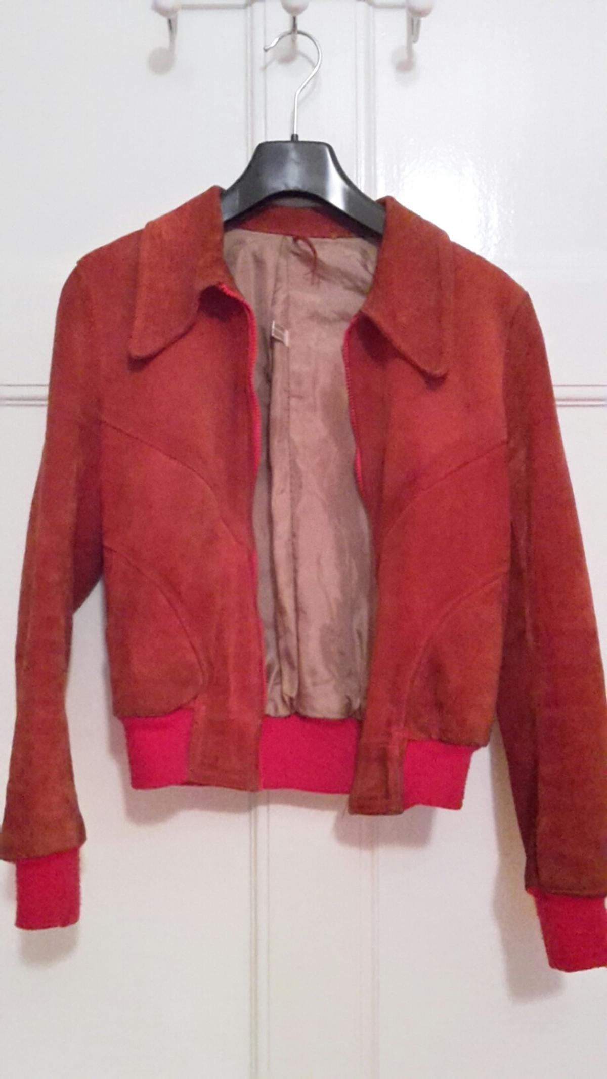 finest selection b6b78 cadb3 Damen Vintage Lederjacke 34/36 in 76135 Karlsruhe for €25.00 ...