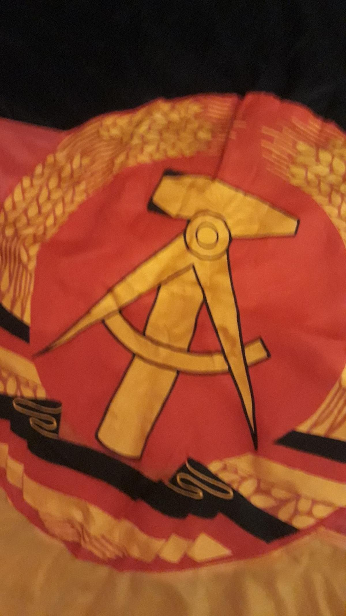 DDR EAST GERMAN MILITARY FLAG in TN39 Rother for £25 00 for
