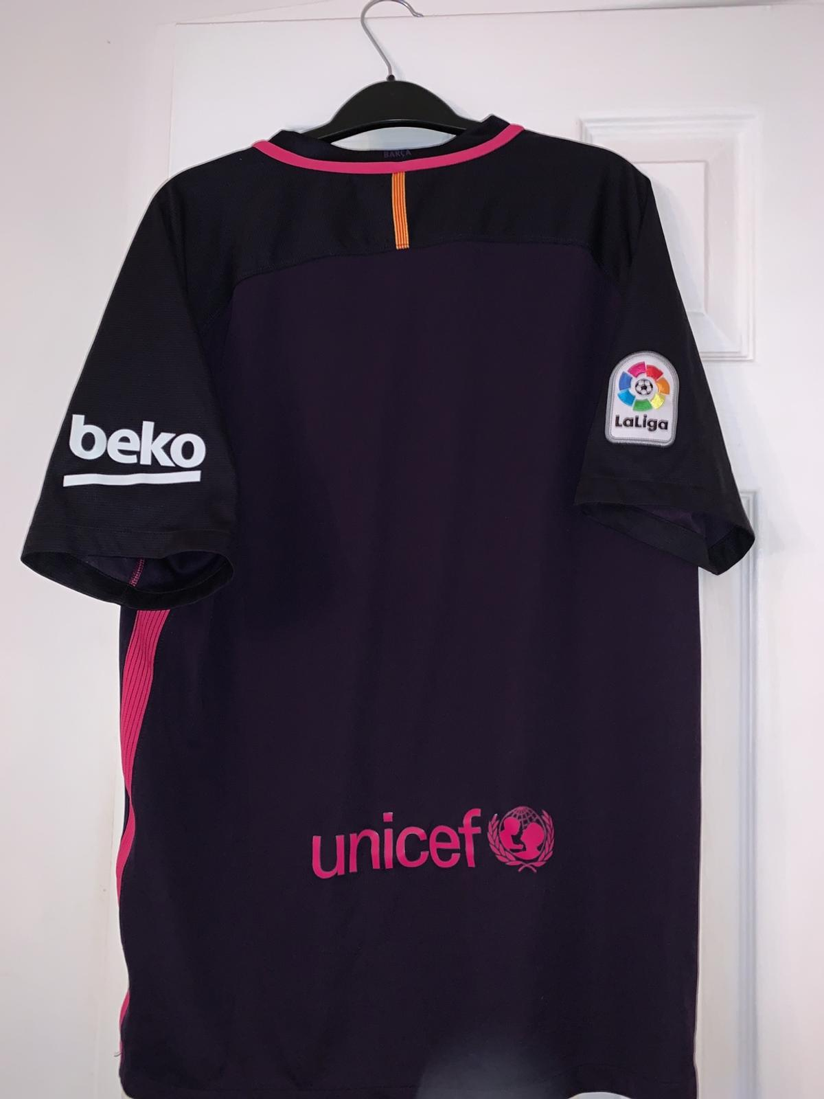 best service d4736 93a33 authentic purple barcelona jersey in WA9 Helens for £10.00 ...
