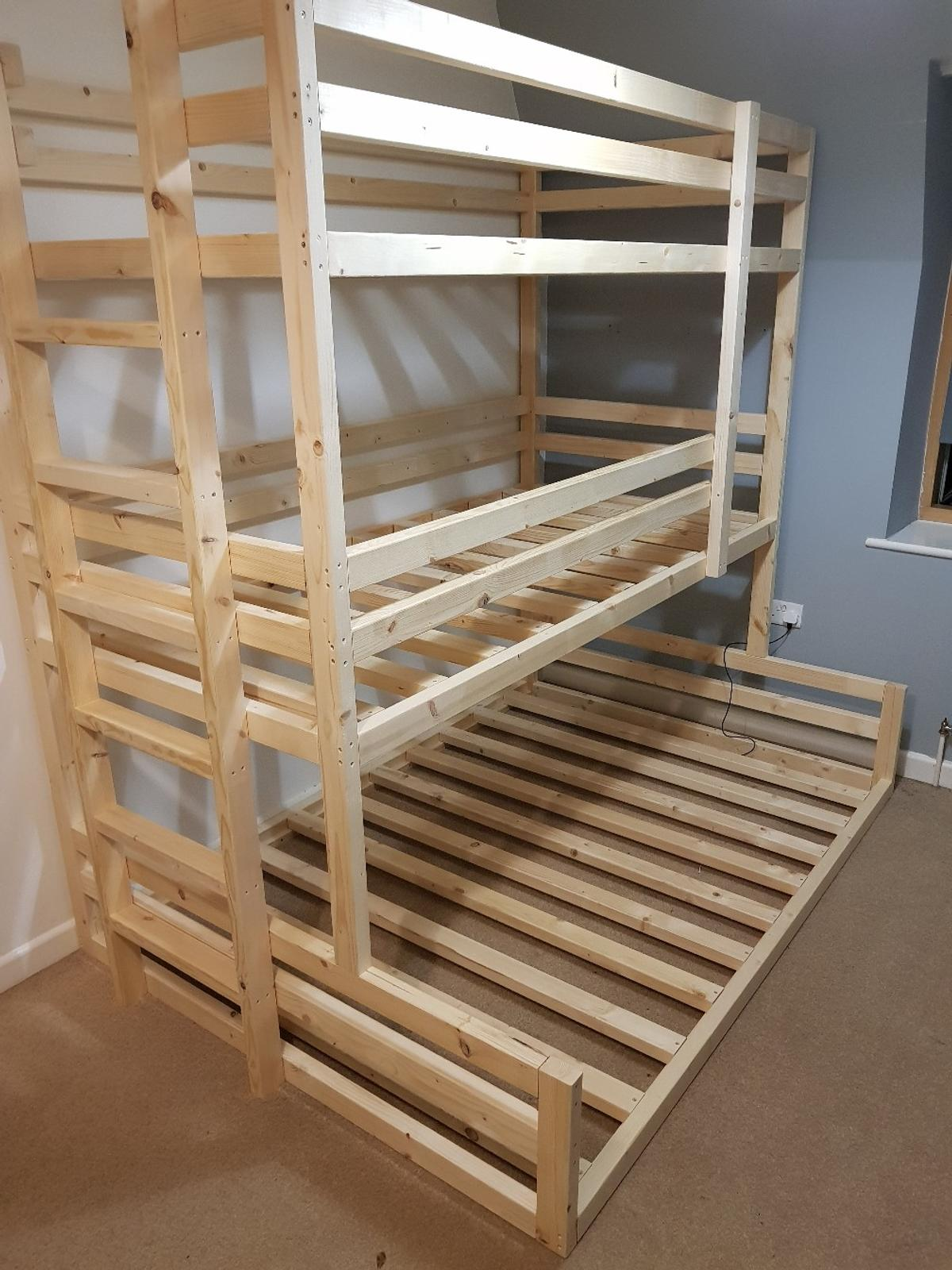 Picture of: Triple Bunk Bed Double Bottom In B31 Birmingham For 350 00 For Sale Shpock