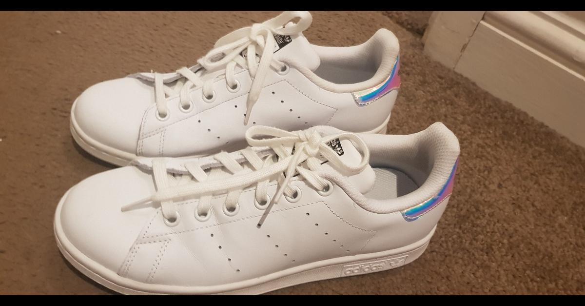 hot sale online c57a7 48d75 Ladies Adidas Stan Smith Trainers - Size 5.5 in GL3 ...