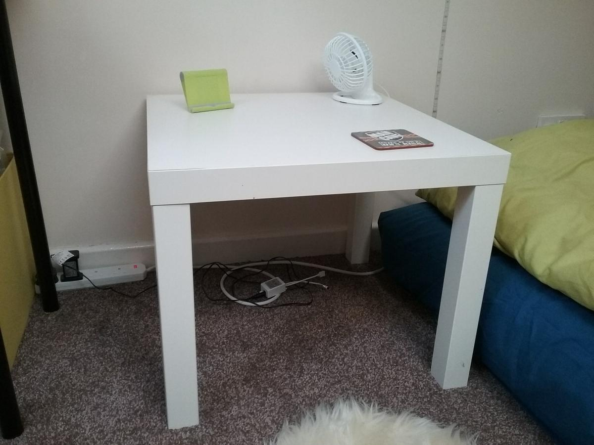 Enjoyable Ikea White Side Table Coffee Table Squirreltailoven Fun Painted Chair Ideas Images Squirreltailovenorg