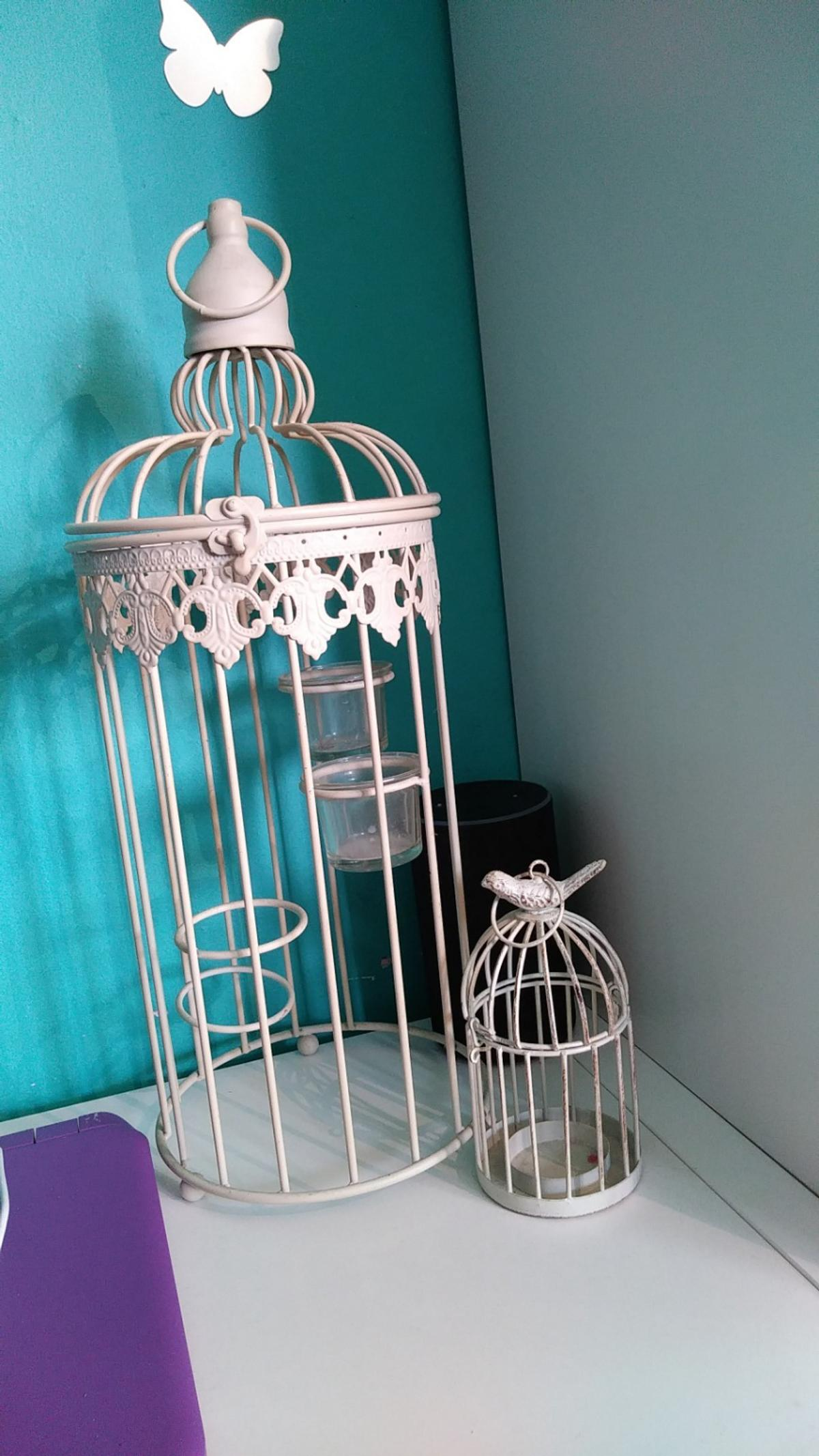 Set Of Decorative Birdcage Candle Holders In Ws13 Lichfield Fur 5 00