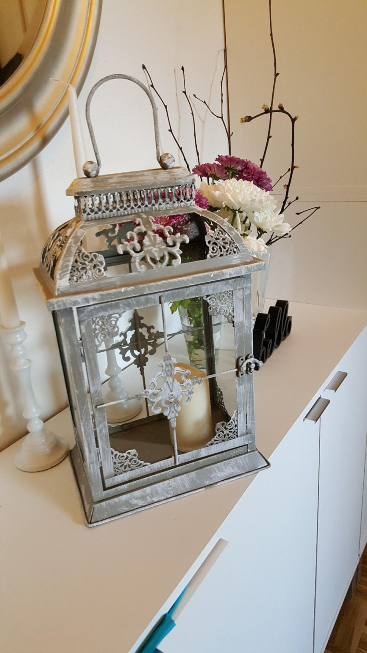 Laterne Vintage Shabby Chic