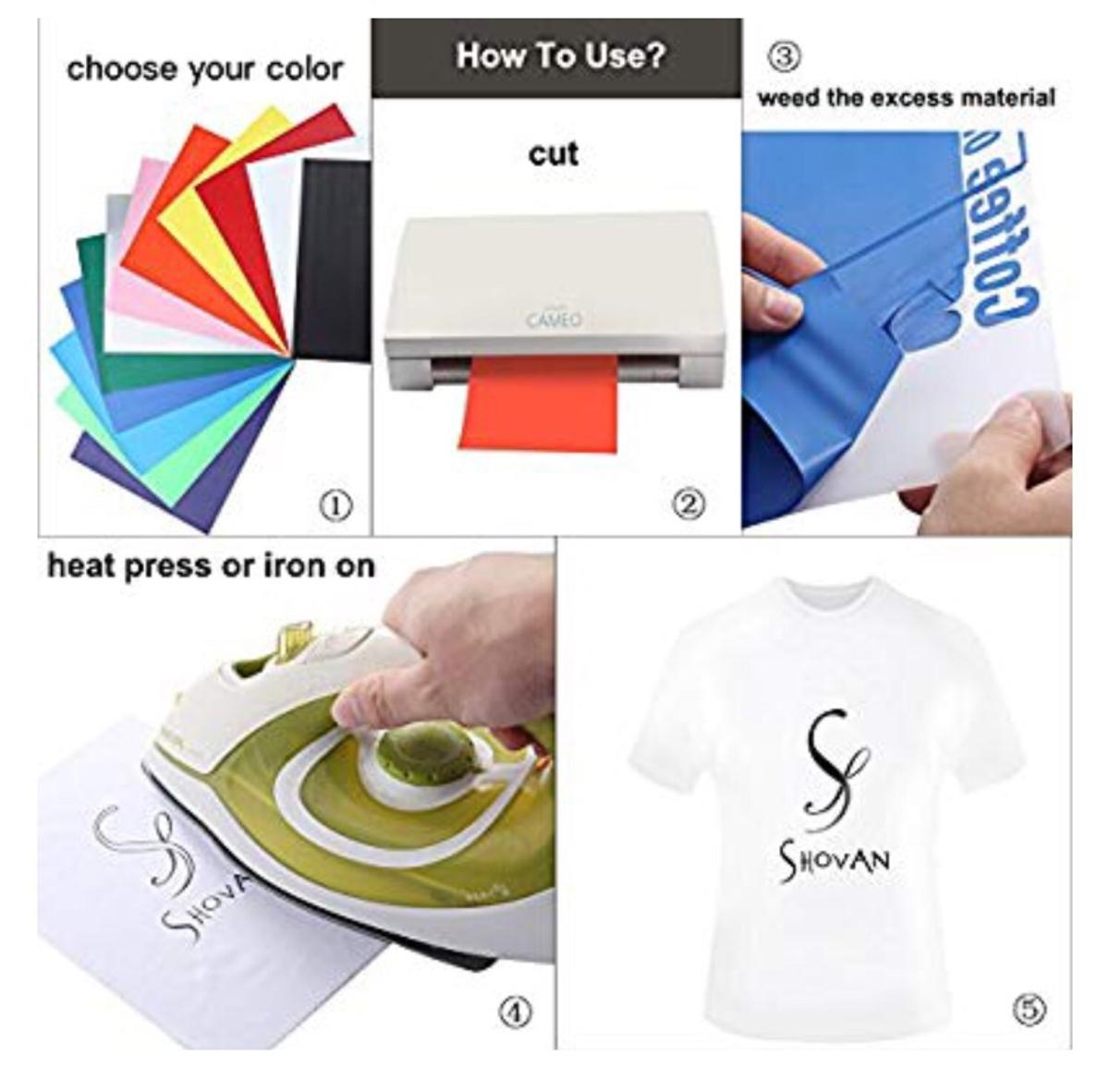 Heat Transfer Vinyl Sheets in BB1 Blackburn for £6 00 for