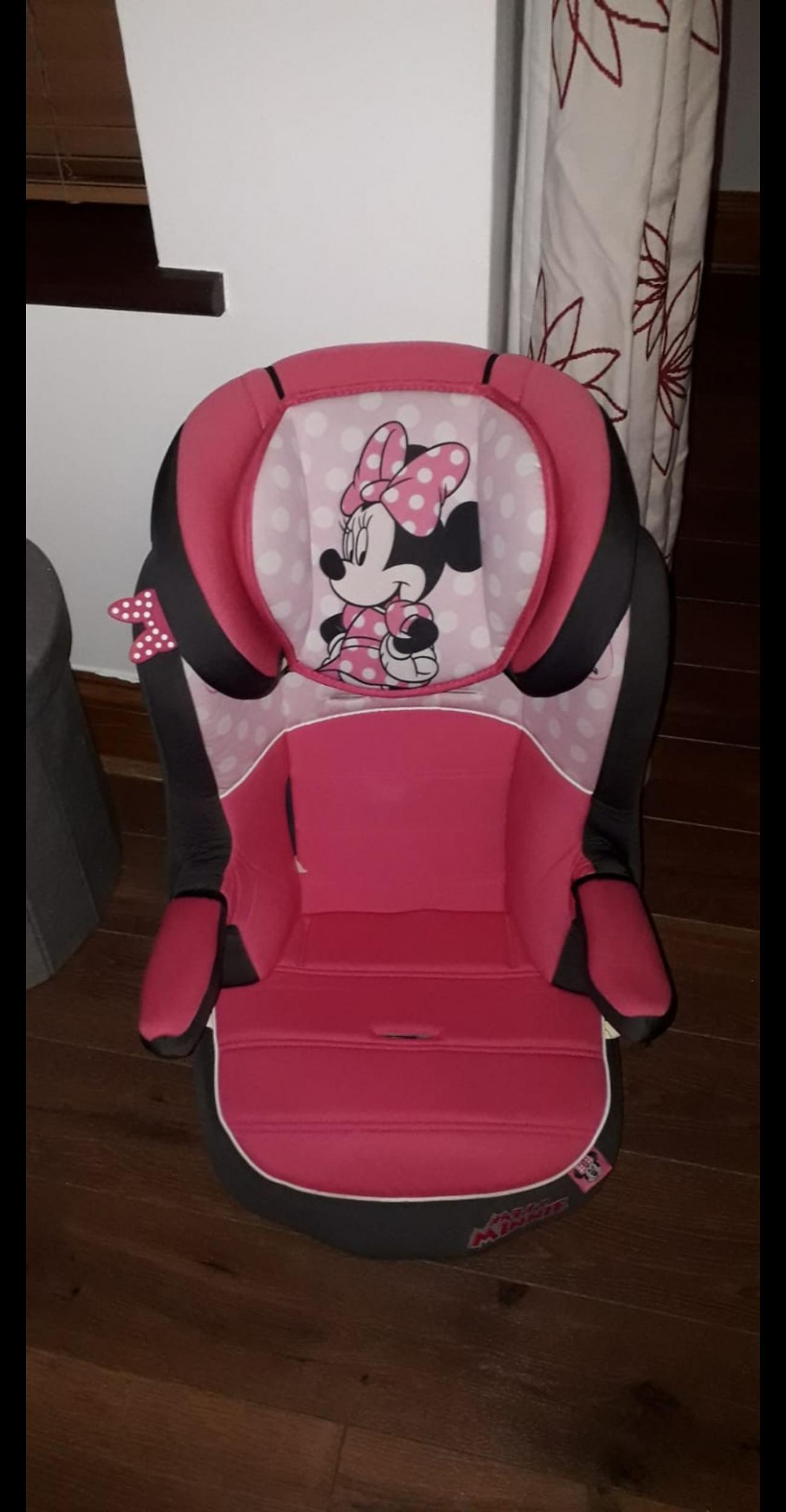 1 2 3 Minnie Mouse Car Seat
