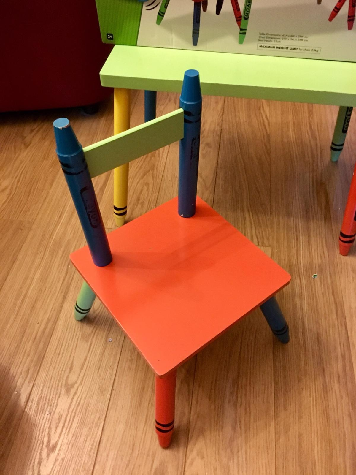 Awesome Childrens Kids Crayon Table And Chairs Set Ocoug Best Dining Table And Chair Ideas Images Ocougorg