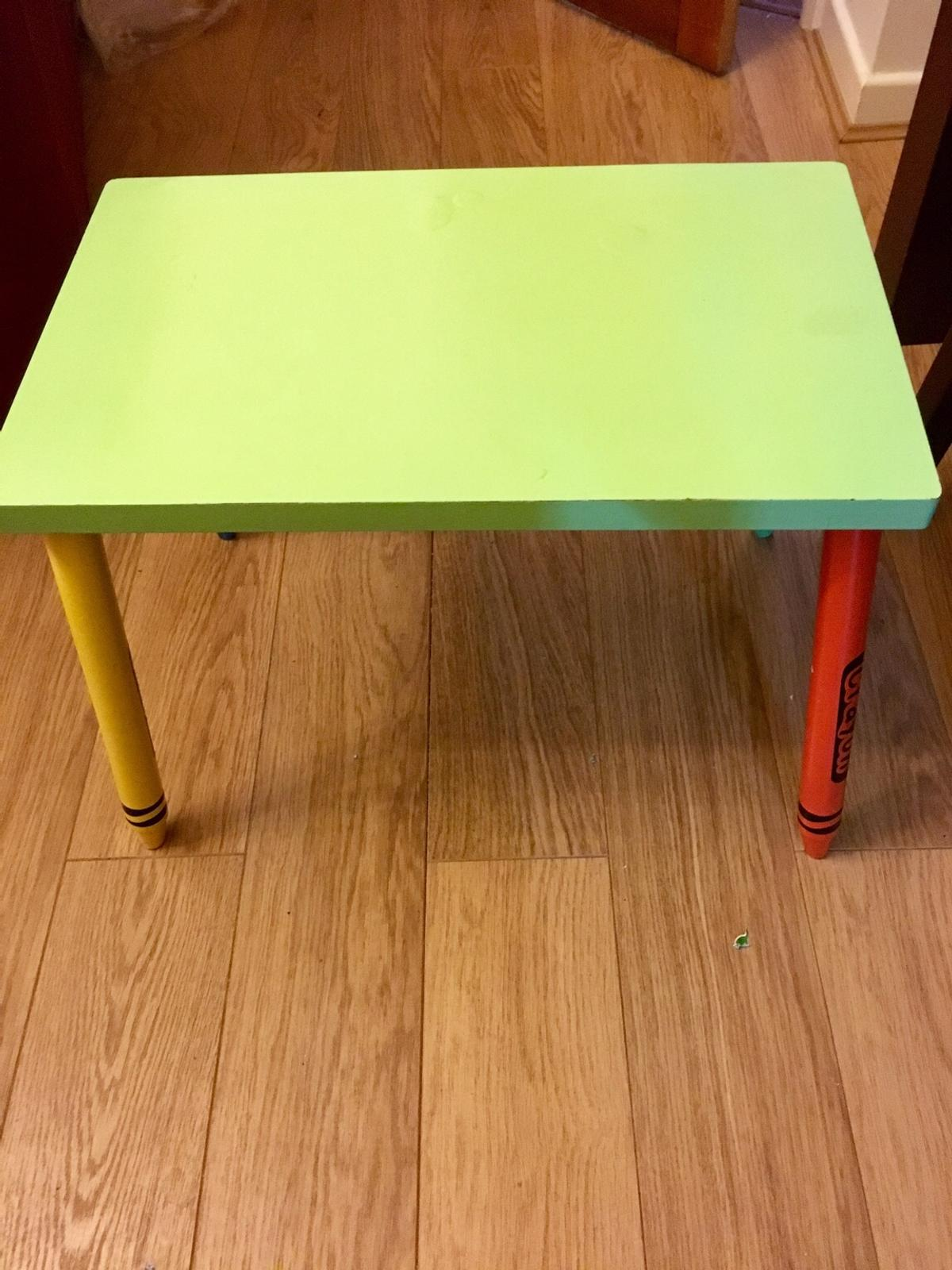 Admirable Childrens Kids Crayon Table And Chairs Set Ocoug Best Dining Table And Chair Ideas Images Ocougorg