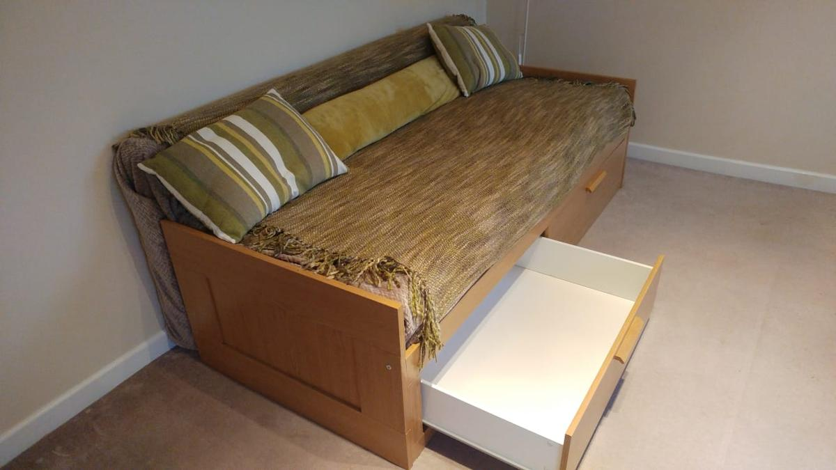 Sofa Bed Day Bed Ikea Brimnes In Rh10 Crawley For 100 00 For Sale Shpock