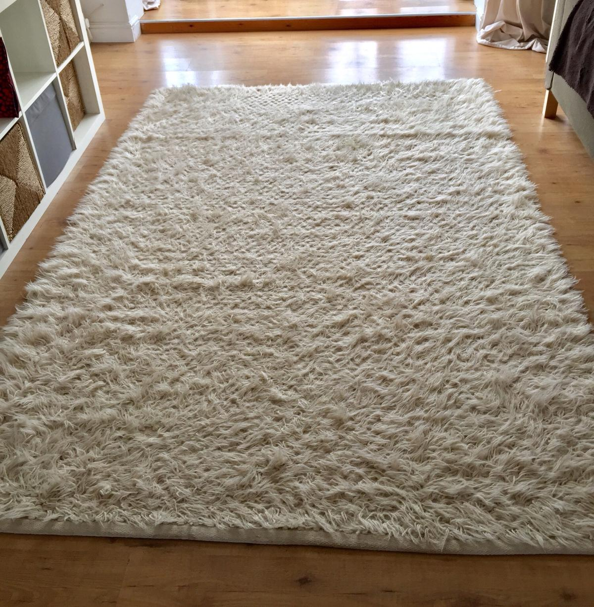 Extra Large Ikea Cream Rug In Ng14