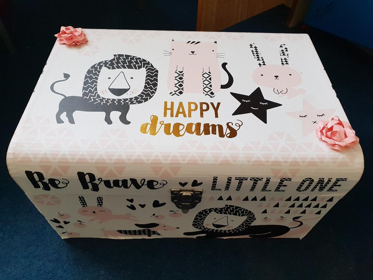 Baby Box Baby Gift Box Pink Black White In Br6 Bromley For 10 00 For Sale Shpock
