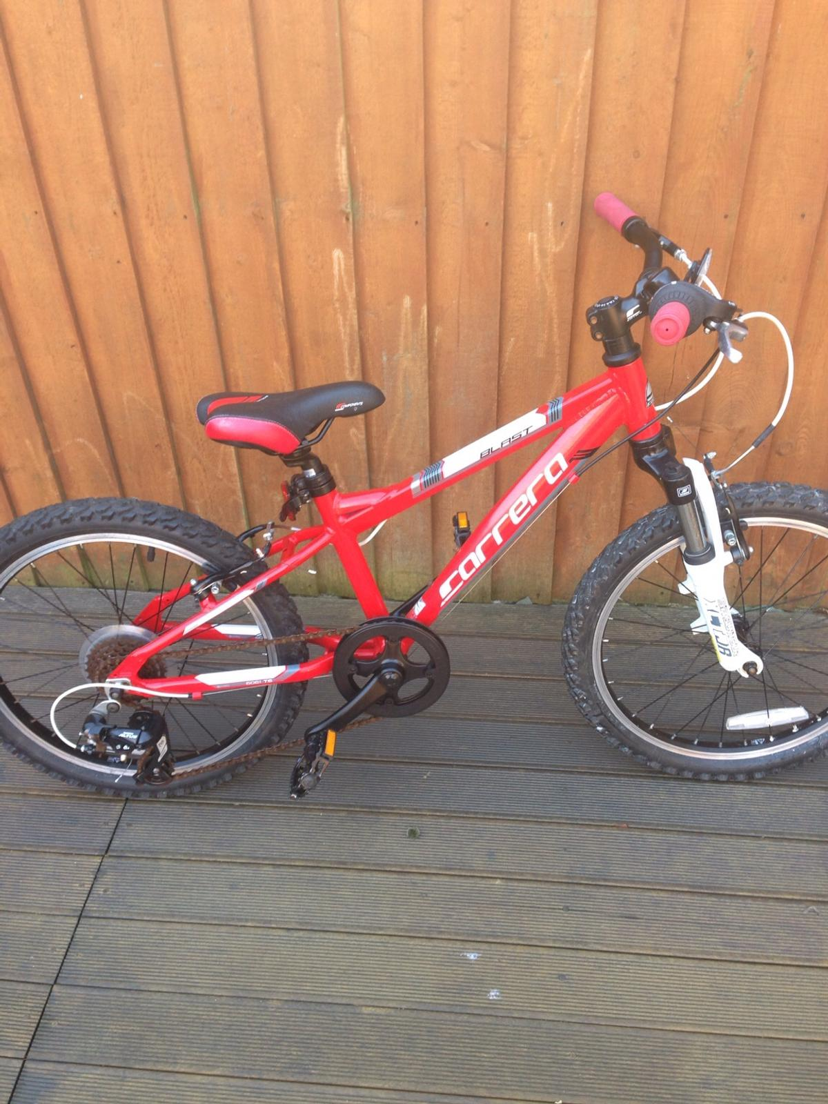 2 kids carrera bikes in L33 Knowsley for £100 00 for sale