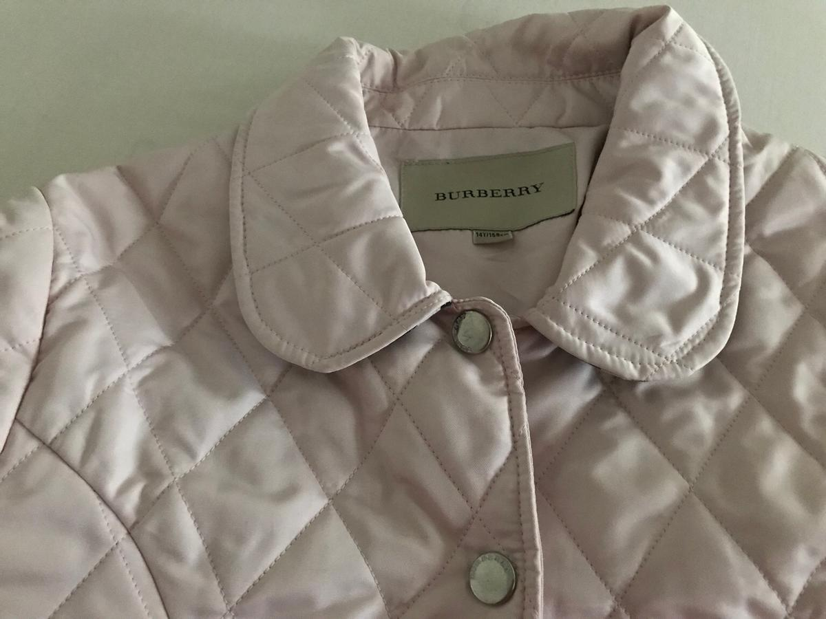 Original Kids Burberry Quilted Jacket