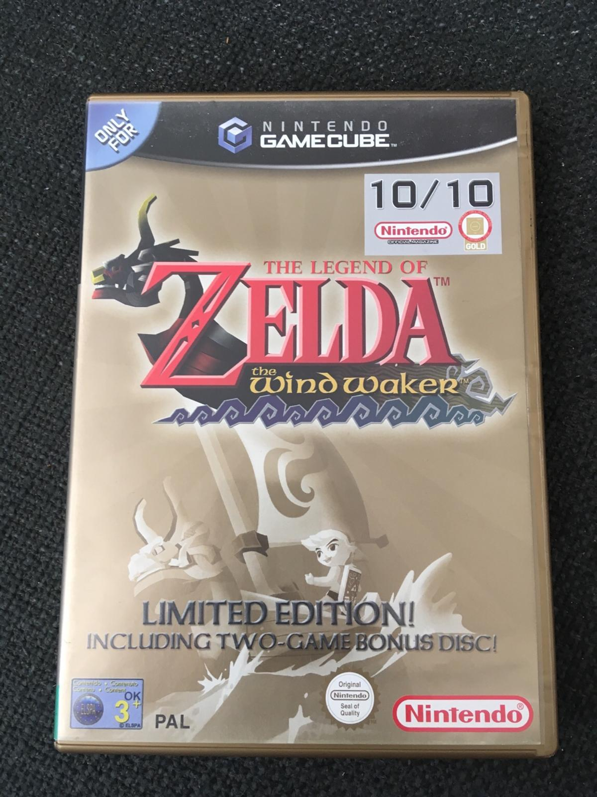 Zelda The Wind Waker Limited Edition GameCube in BR3 Bromley for