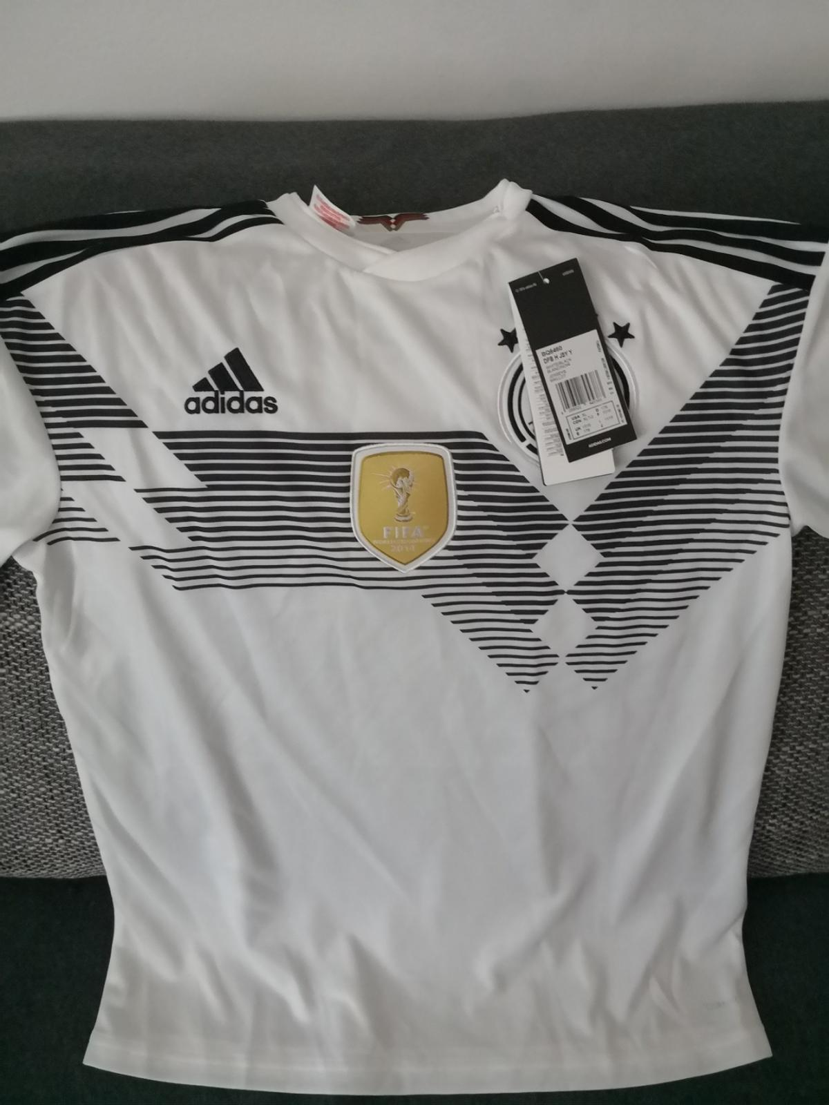 adidas Kinder DFB Home Trikot 2018 in 67549 Worms for €13.00