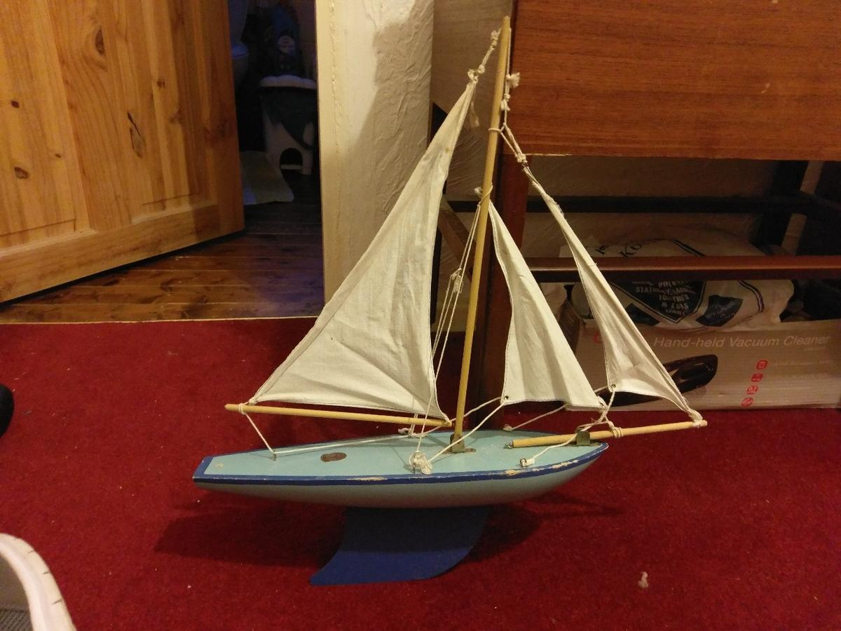 vintage pond yacht in CV5 Coventry for £25 00 for sale - Shpock