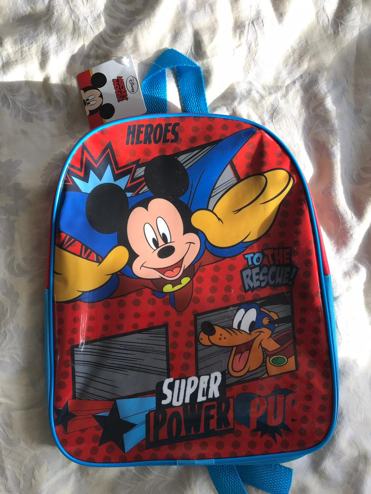 Brand New Disney Mickey Mouse Backpack