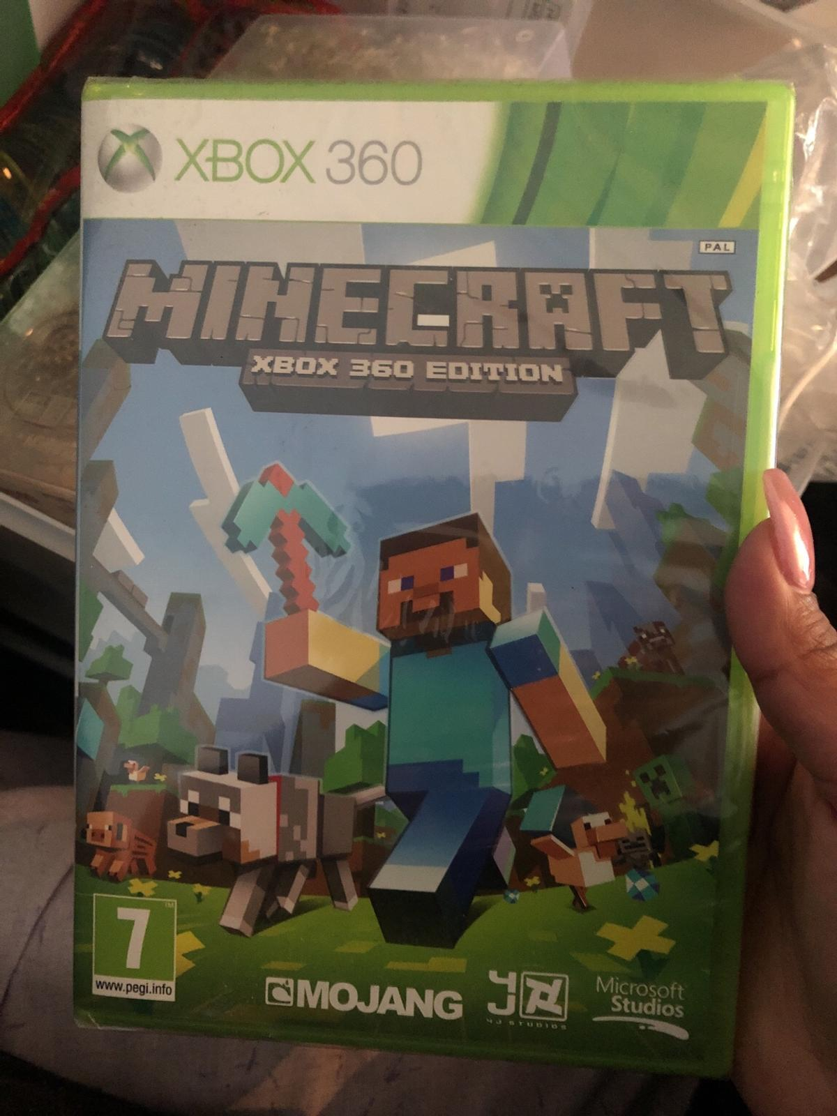 Minecraft Xbox 360 (brand new with package)