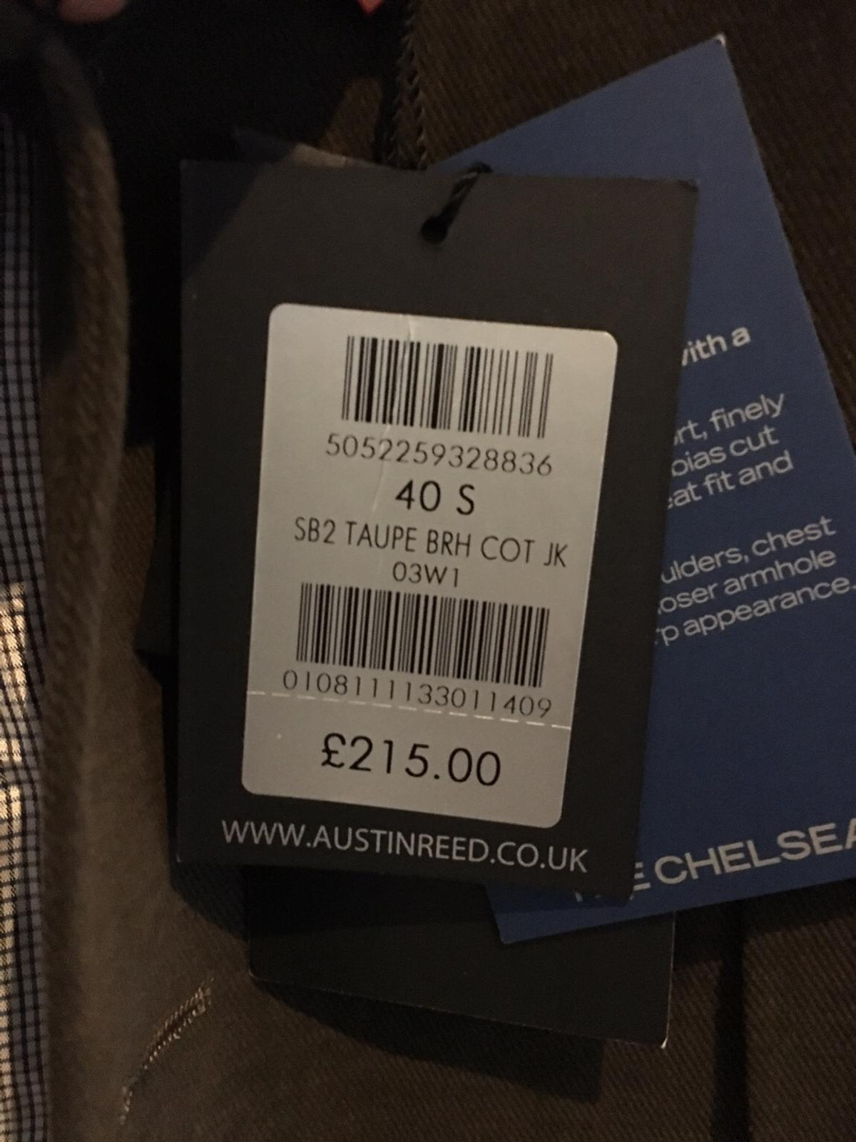 Men S Austin Reed Jacket 40 Short In Bh3 Bournemouth For 120 00 For Sale Shpock