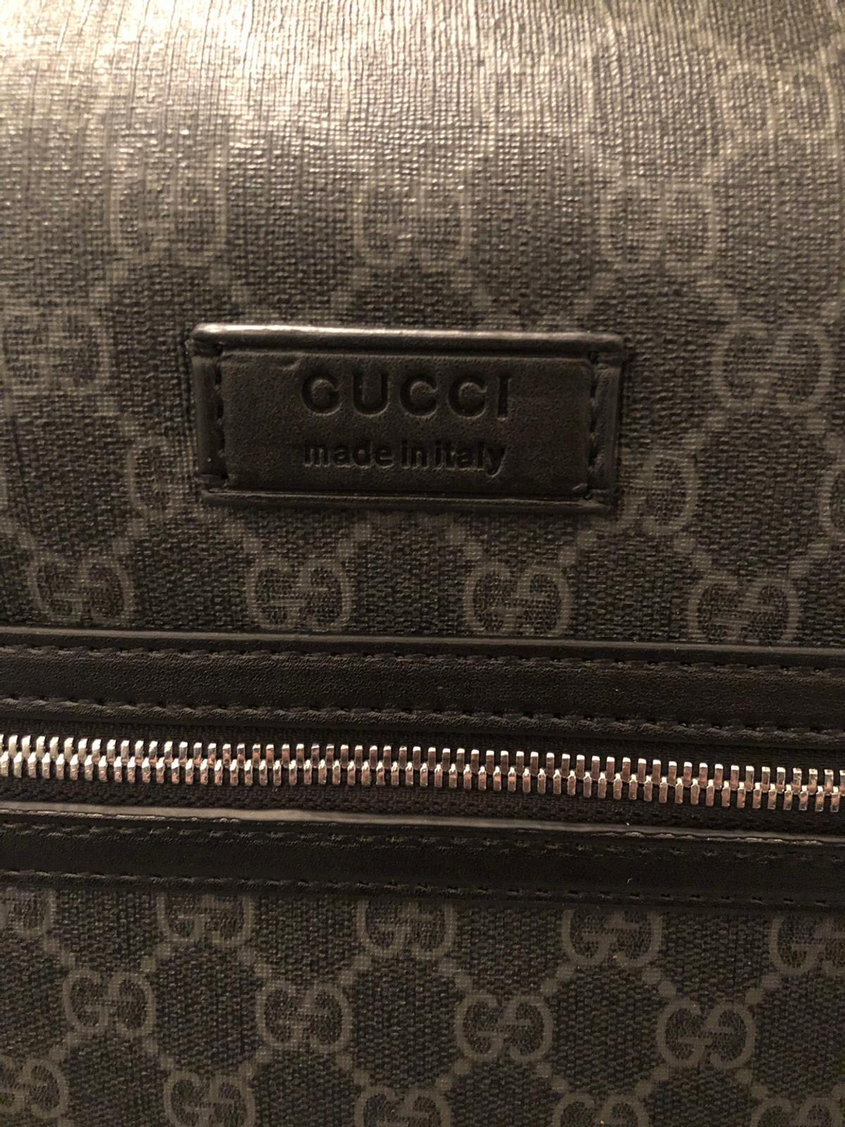 f92d26d6 Gucci Mens GG Supreme Man Bag Travel Bag in Luton for £499.00 for ...