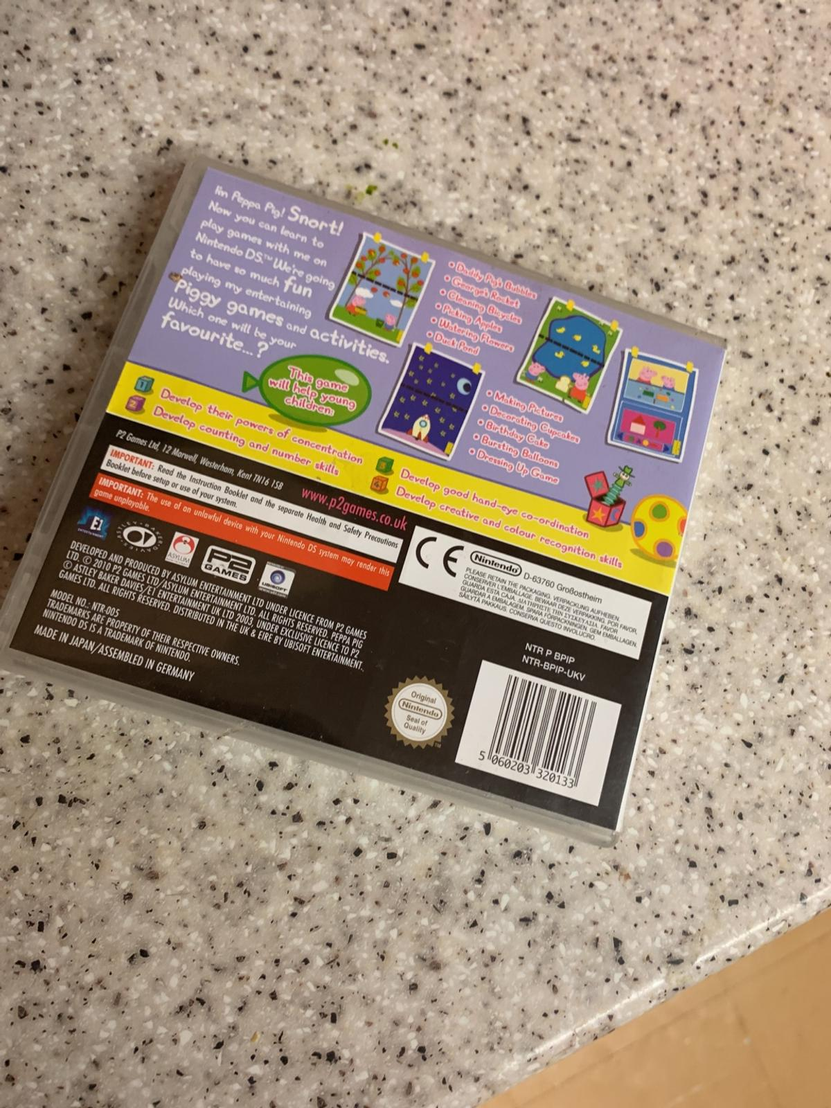 Peppa Pig Ds Game In Marsh Farm For 3 00 For Sale Shpock