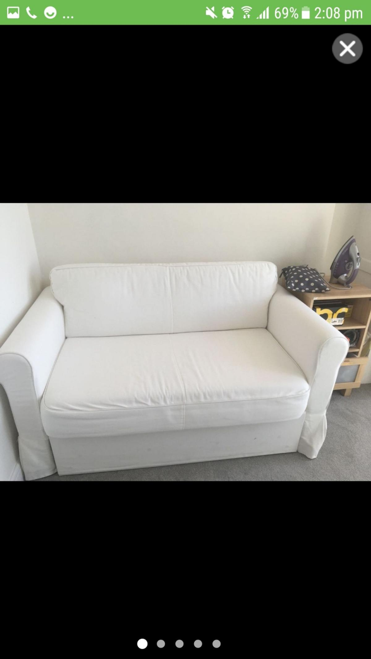 Tremendous Ikea Hagalund Double Sofa Bed Like New Bralicious Painted Fabric Chair Ideas Braliciousco