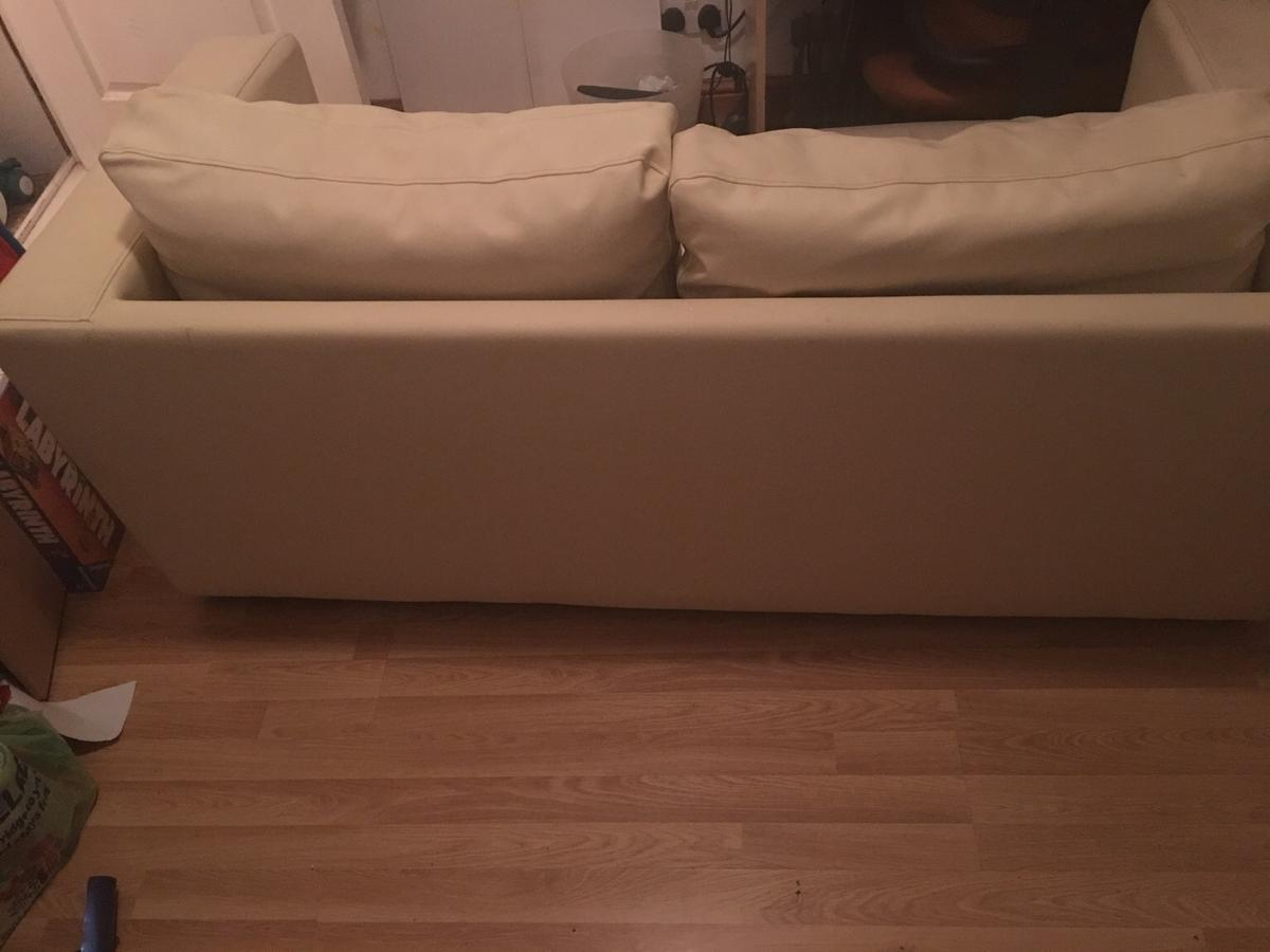 2 Seater leather sofa bed Excellent condition in SE25 London ...