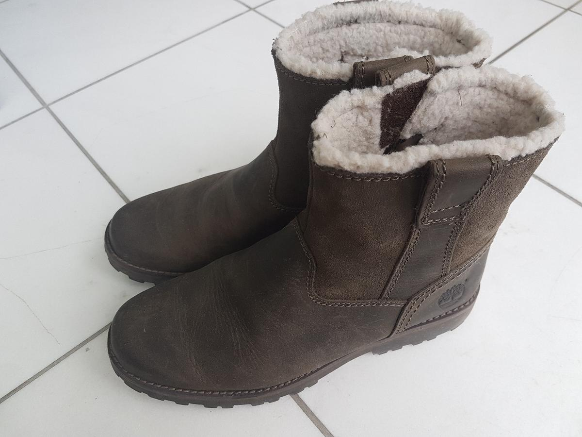 best authentic 4851b 259d7 Timberland Winterstiefel m. Fell Damen/Kinder in 6805 ...