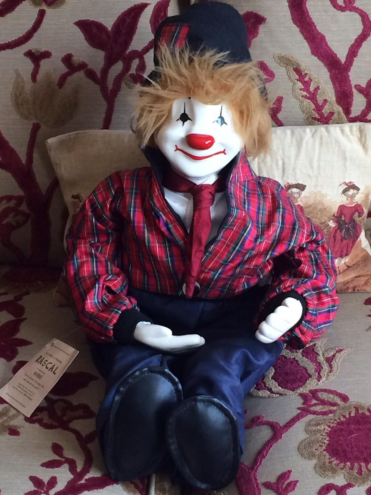 Genuine Rascal Clown Collectors item in Wigan for £100 00 for sale