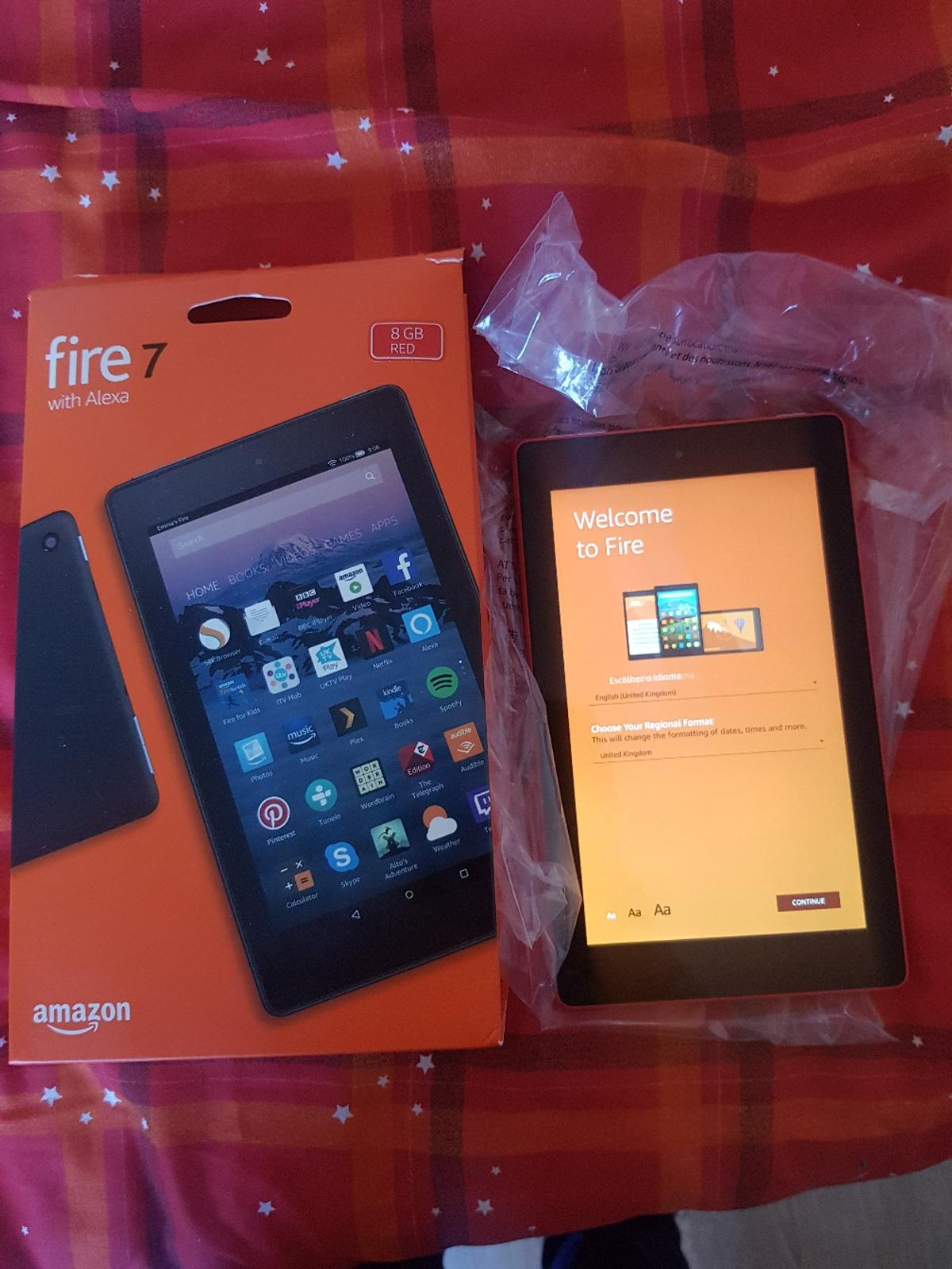 Amazon fire 7 tablet with Alexa in for £45 00 for sale - Shpock