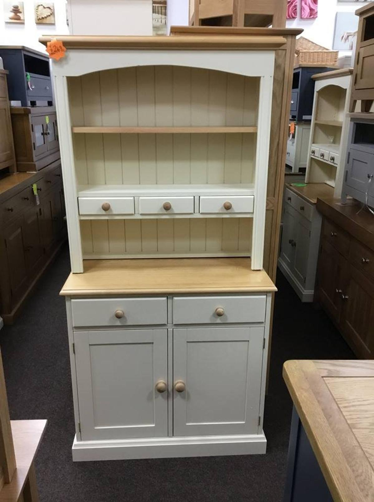 Cream And Pine Kitchen Dresser In Tf2 Telford For 249 00 For Sale Shpock