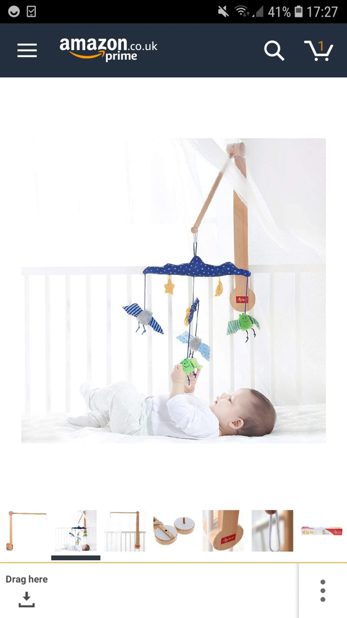 Sigikid Wooden Baby Mobile Arm Bracket In Nw6 Camden For 1000 For