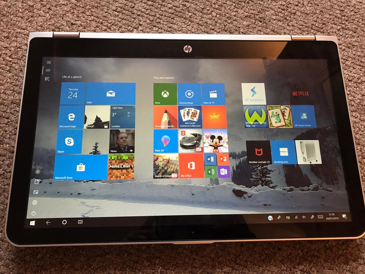 """HP Pavilion x360 15 6"""" Laptop Touch Screen in BB4 Rossendale"""