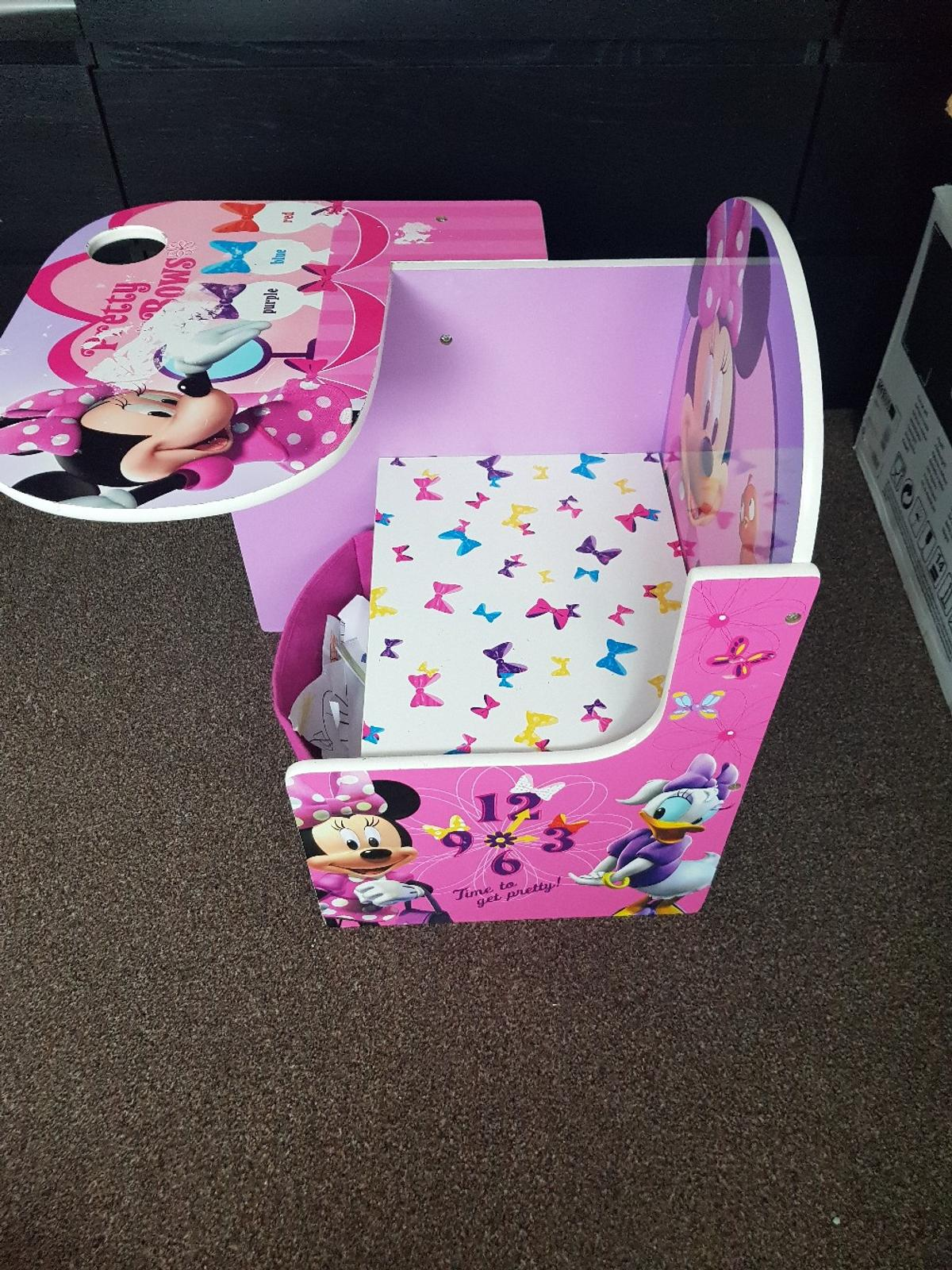 Outstanding Kids Table Desk Chair Minnie Mouse In St Helens For 25 00 Machost Co Dining Chair Design Ideas Machostcouk