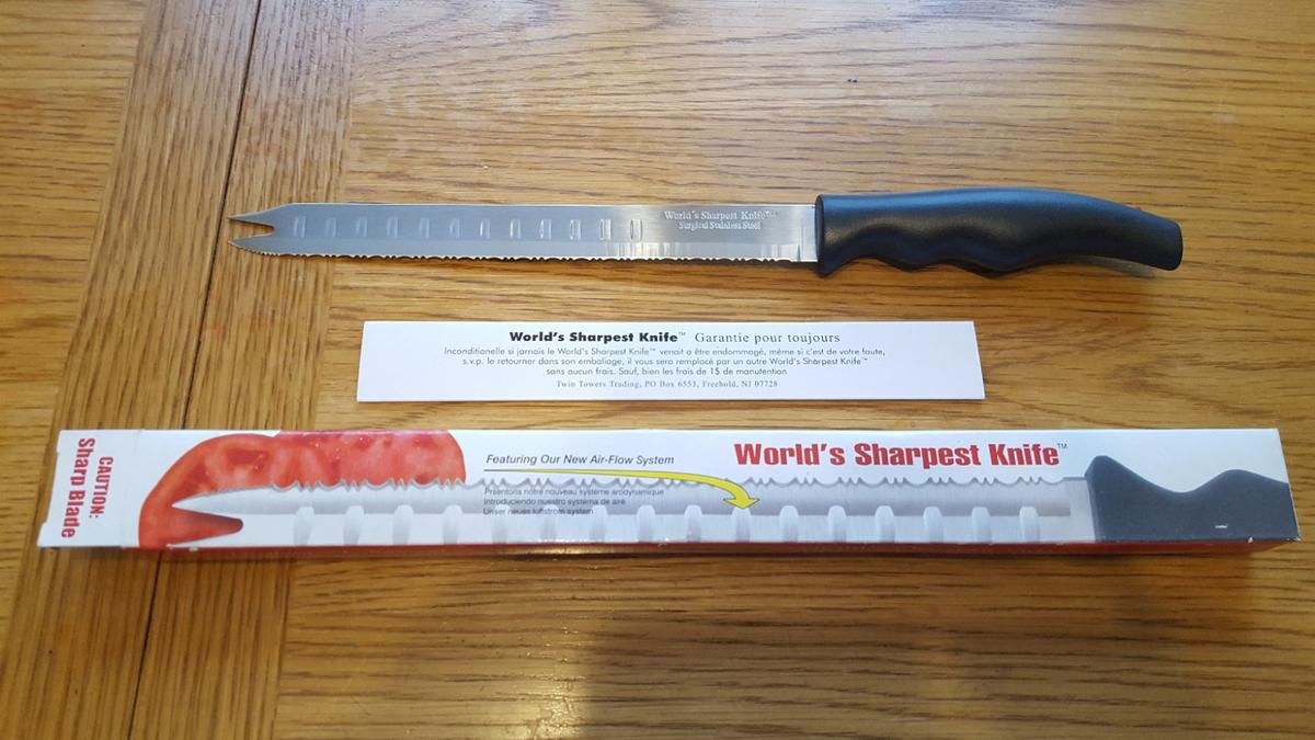 World\'s sharpest knife