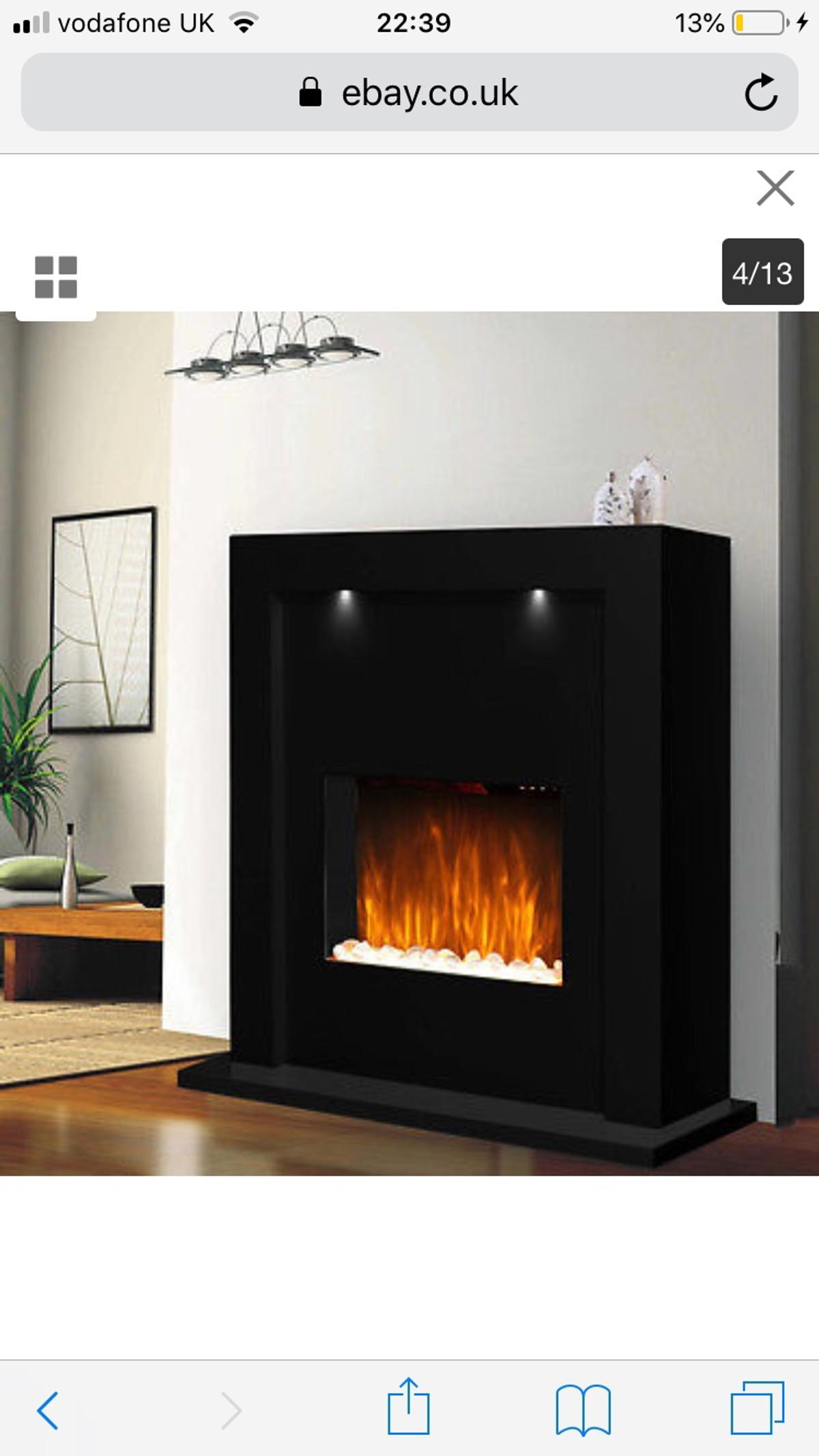 Peachy Reduced Glowmaster Electric Fireplace Heater In Horsham For Download Free Architecture Designs Parabritishbridgeorg