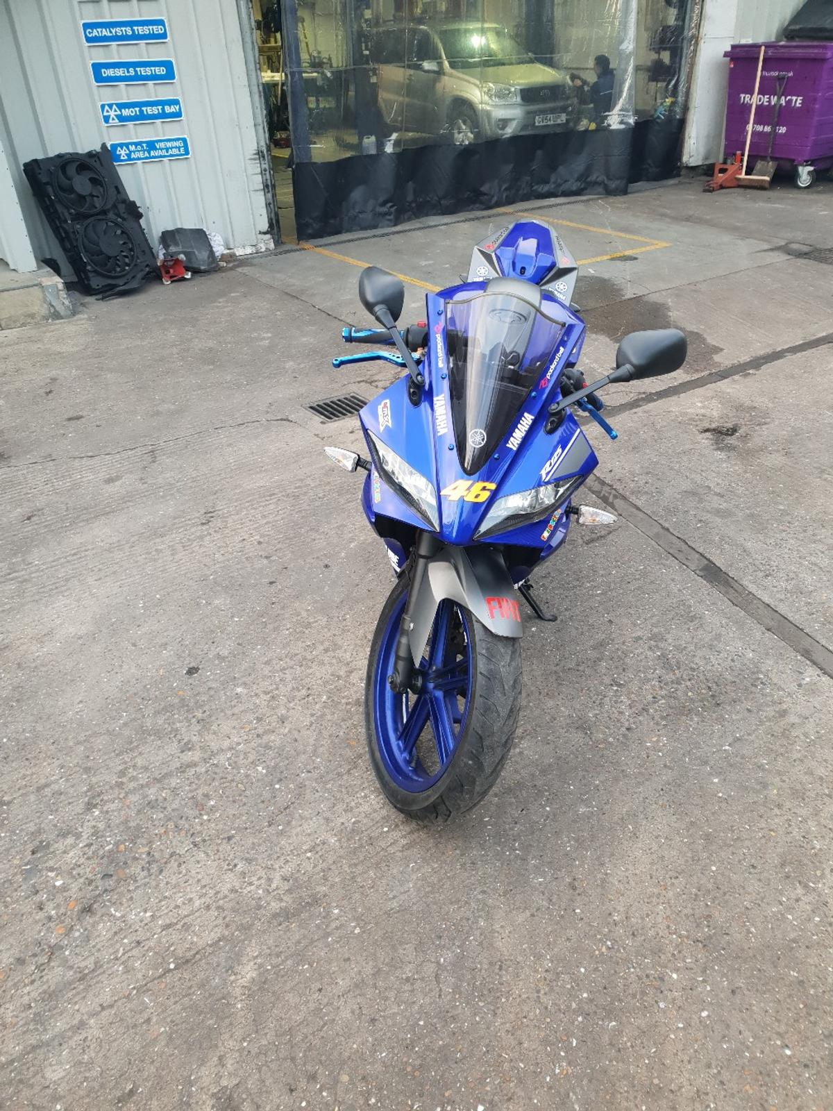 YAMAHA YZF R125 FRONT RIGHT /& LEFT REAR INDICATOR