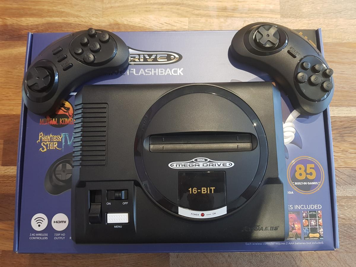 Sega MegaDrive Flashback HD With SD Card  in Middle Weald