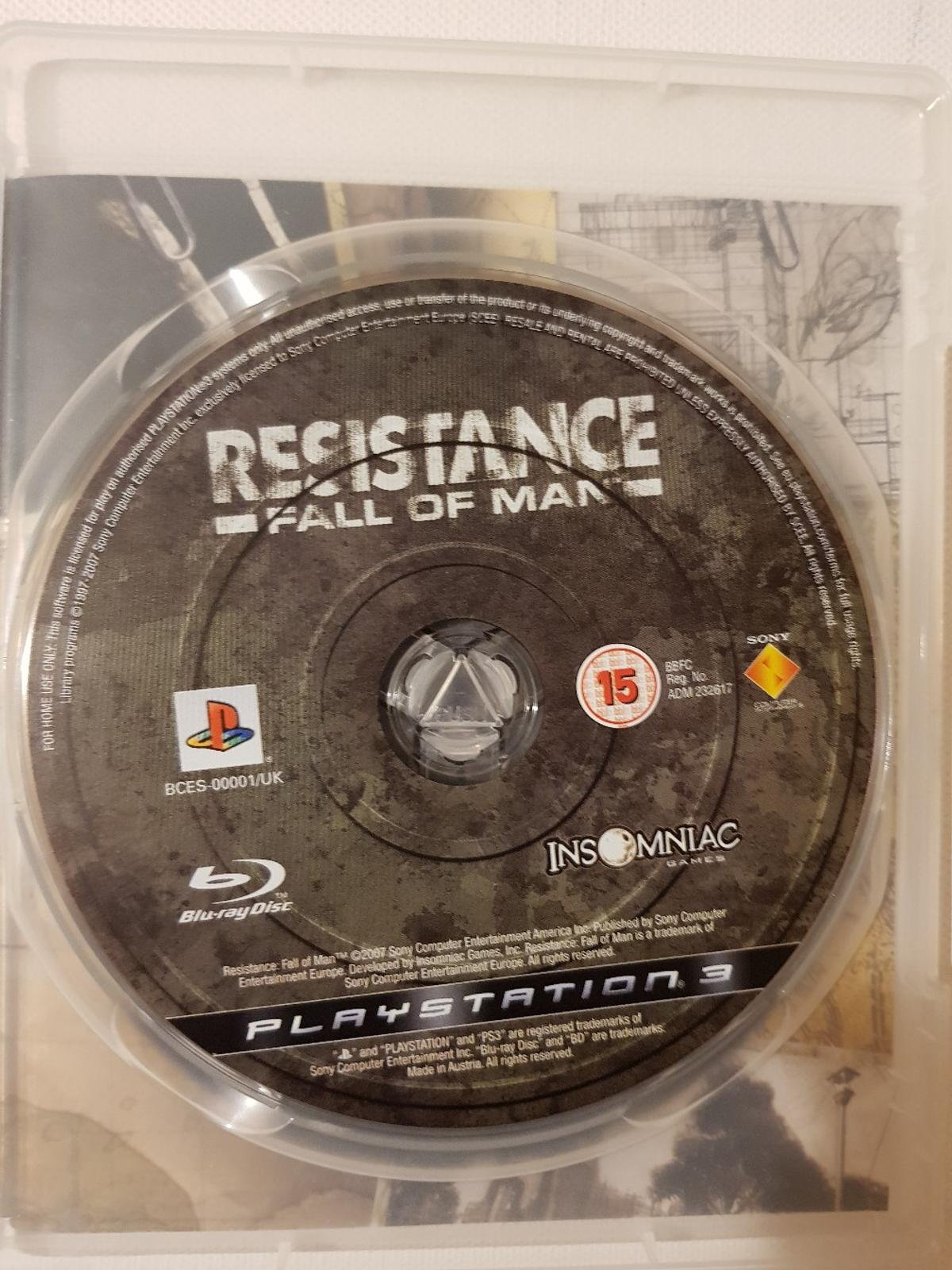 Resistance: Fall of Man (PS3) Game in LS17 Leeds for £1 60